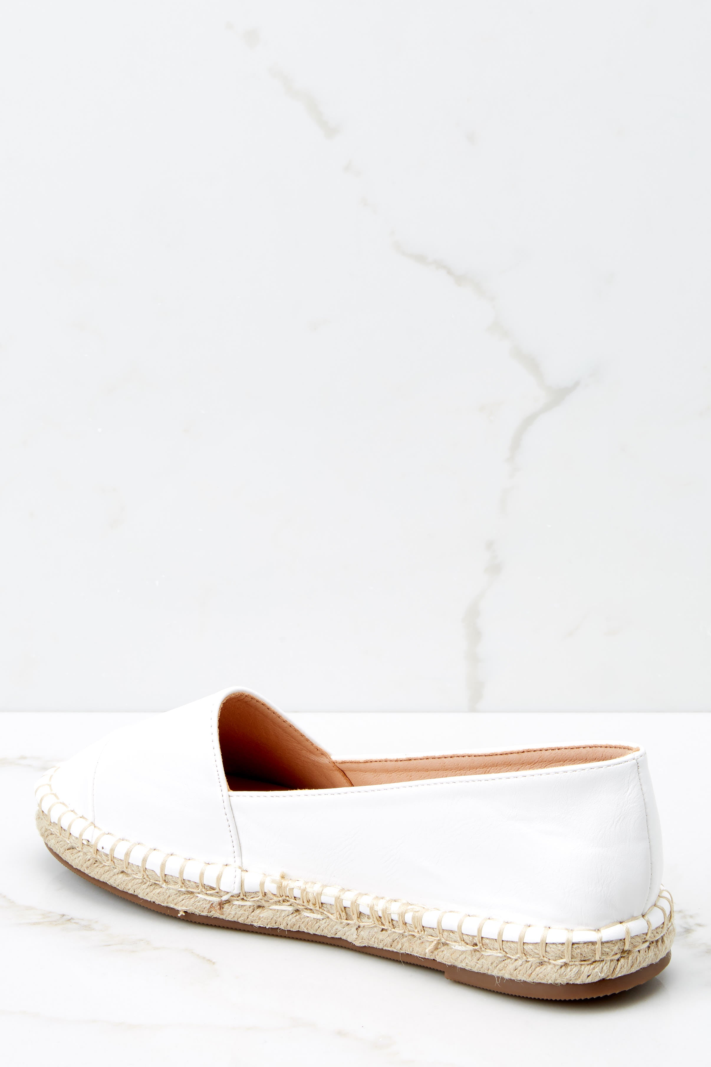 4 Following Fun White Slip On Espadrille Flats at reddressboutique.com