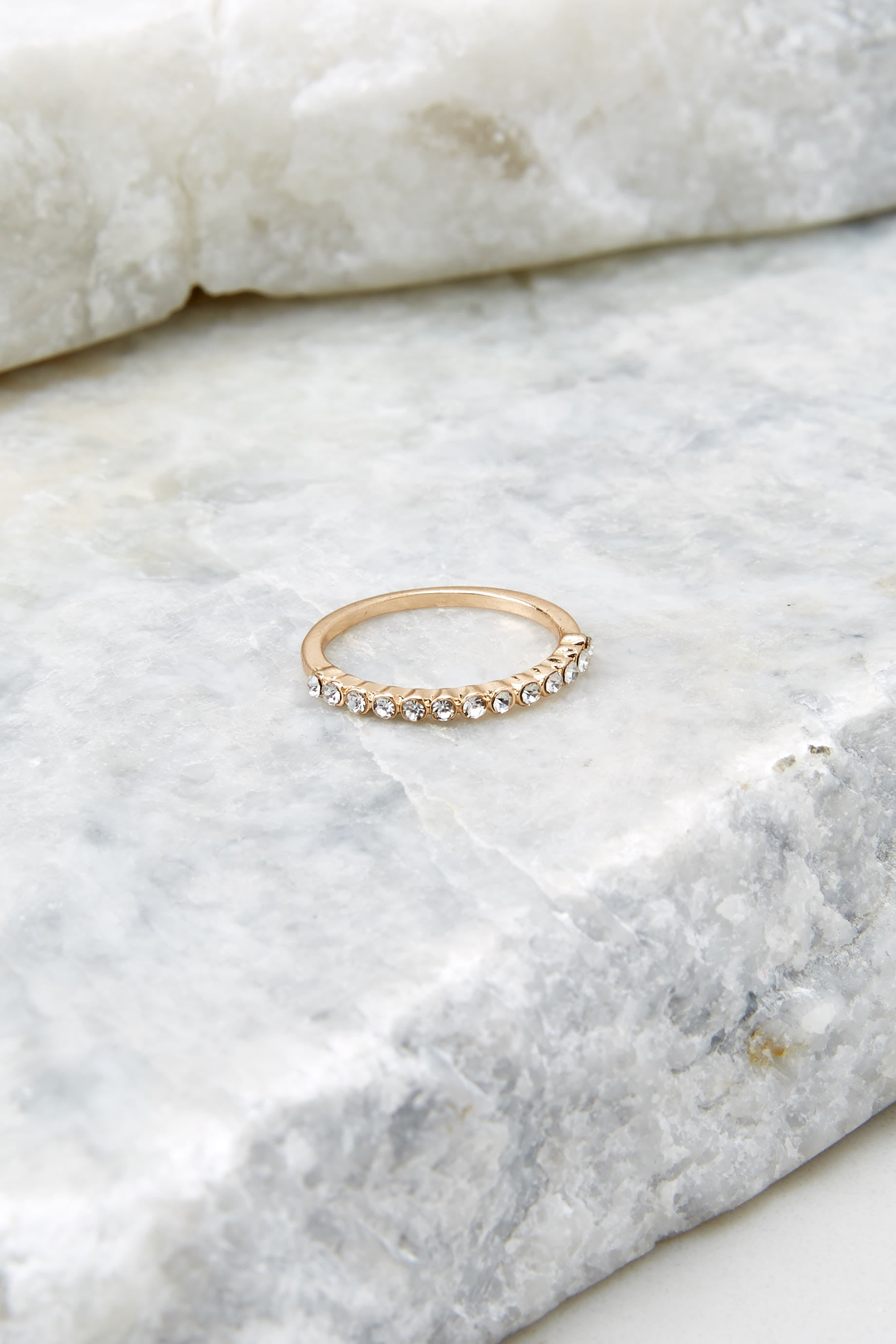 2 We Do Gold Ring at reddressboutique.com
