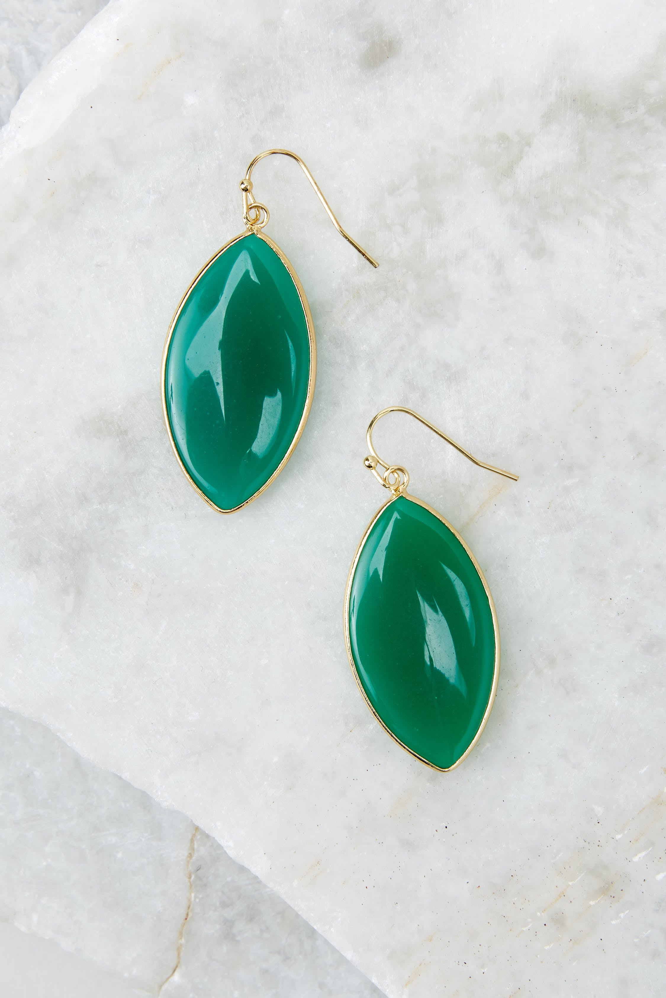 2 Even If Green Earrings at reddress.com