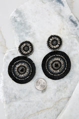 3 The Way I Do Black Statement Earrings at reddress.com