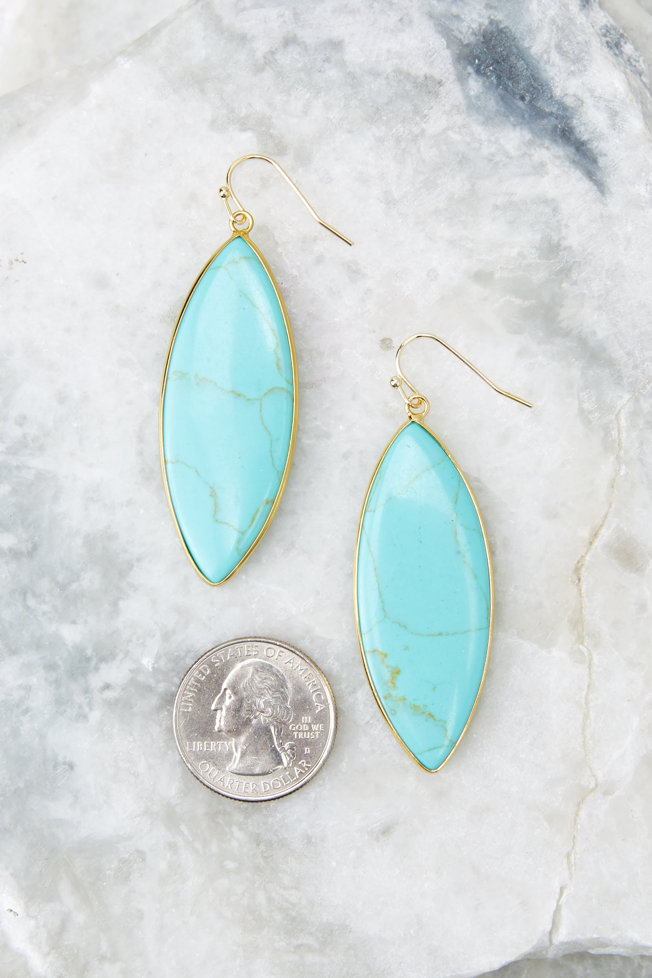 If I Know Me Turquoise Earrings
