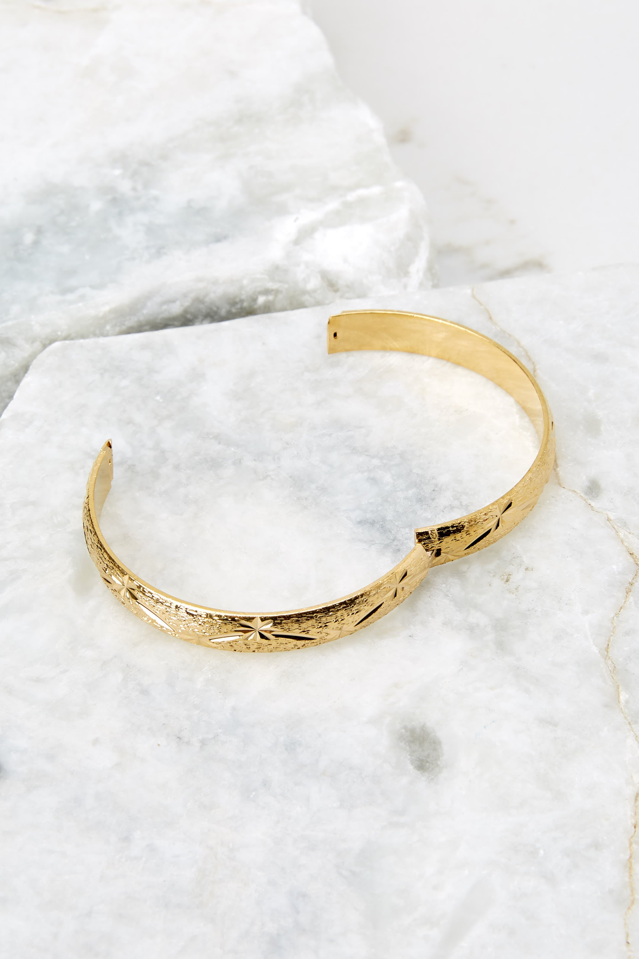 Stardust Gold Bangle