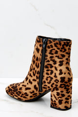 3 Must Be Famous Leopard Ankle Booties at reddressboutique.com