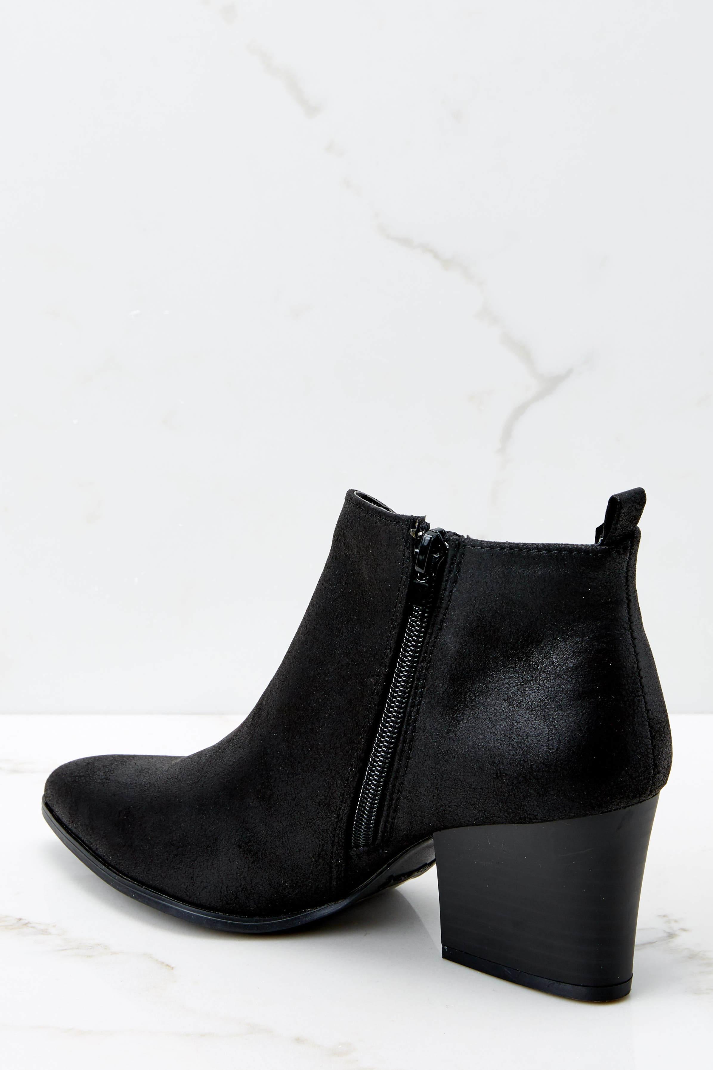 3 From The Valley Black Ankle Booties at reddressboutique.com