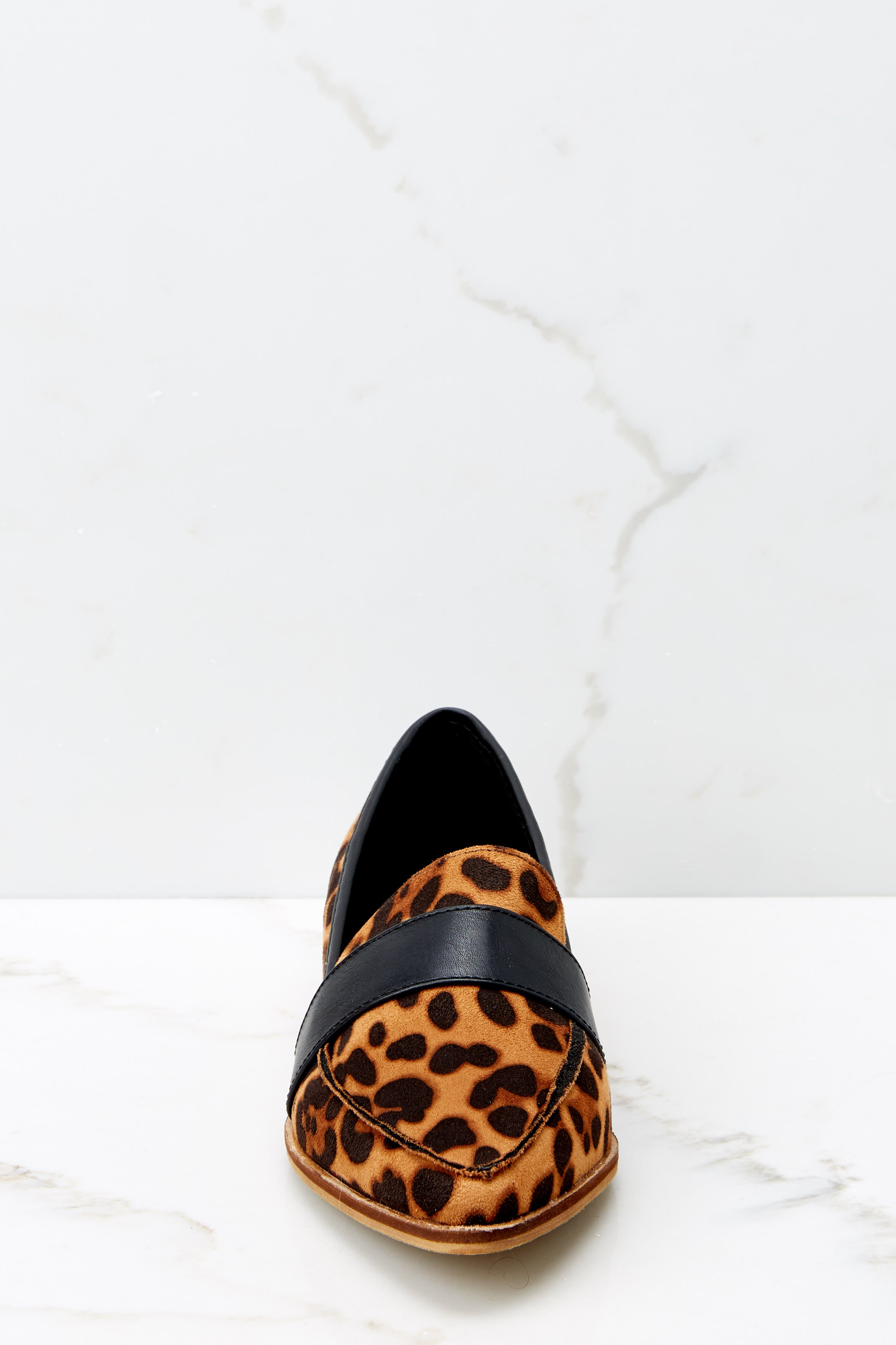 3 Second Glances Leopard Loafers at reddress.com