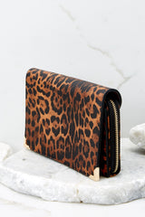 Read Into This Leopard Print Purse