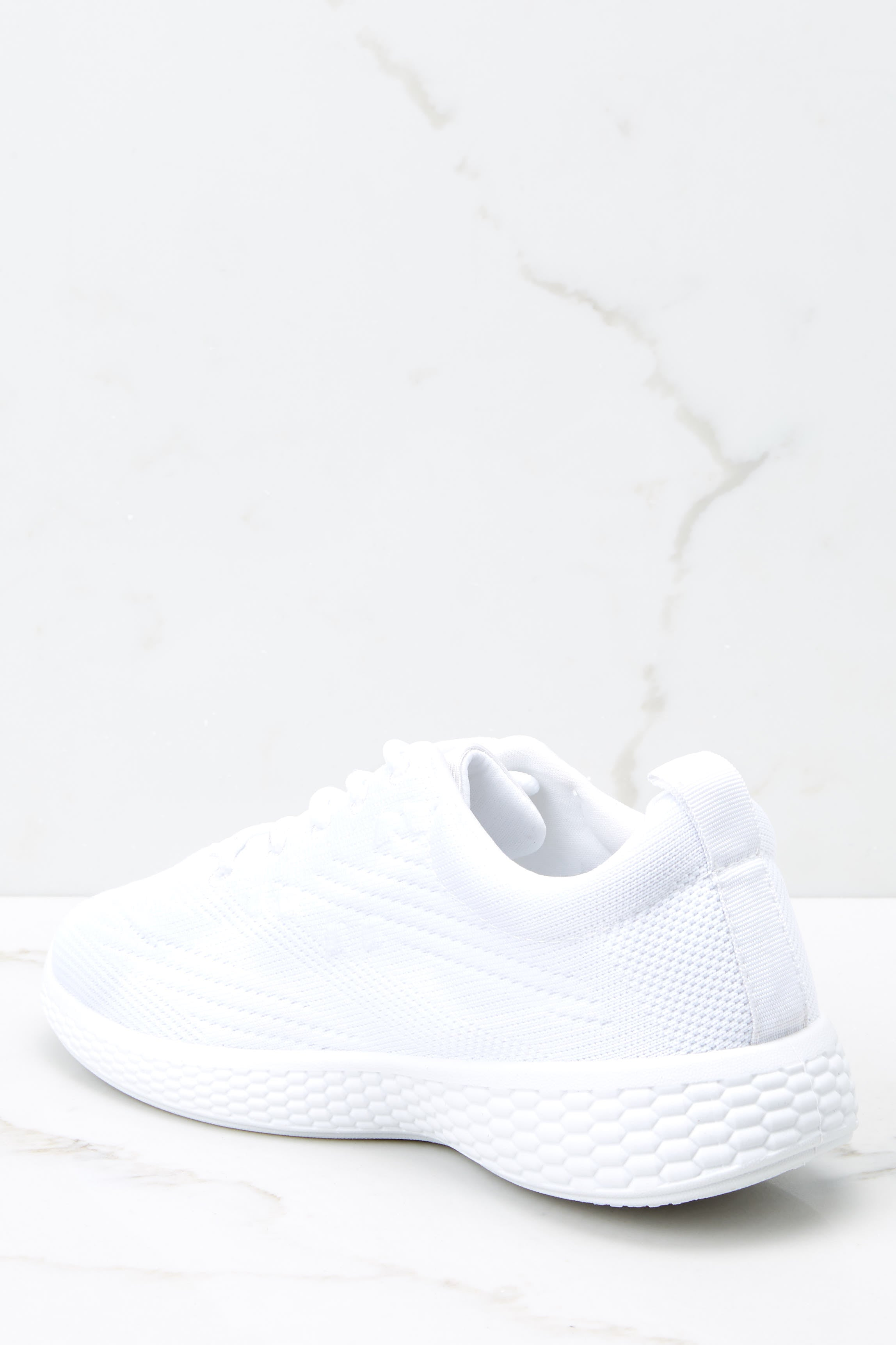 4 Buzz Off White Sneakers at reddressboutique.com
