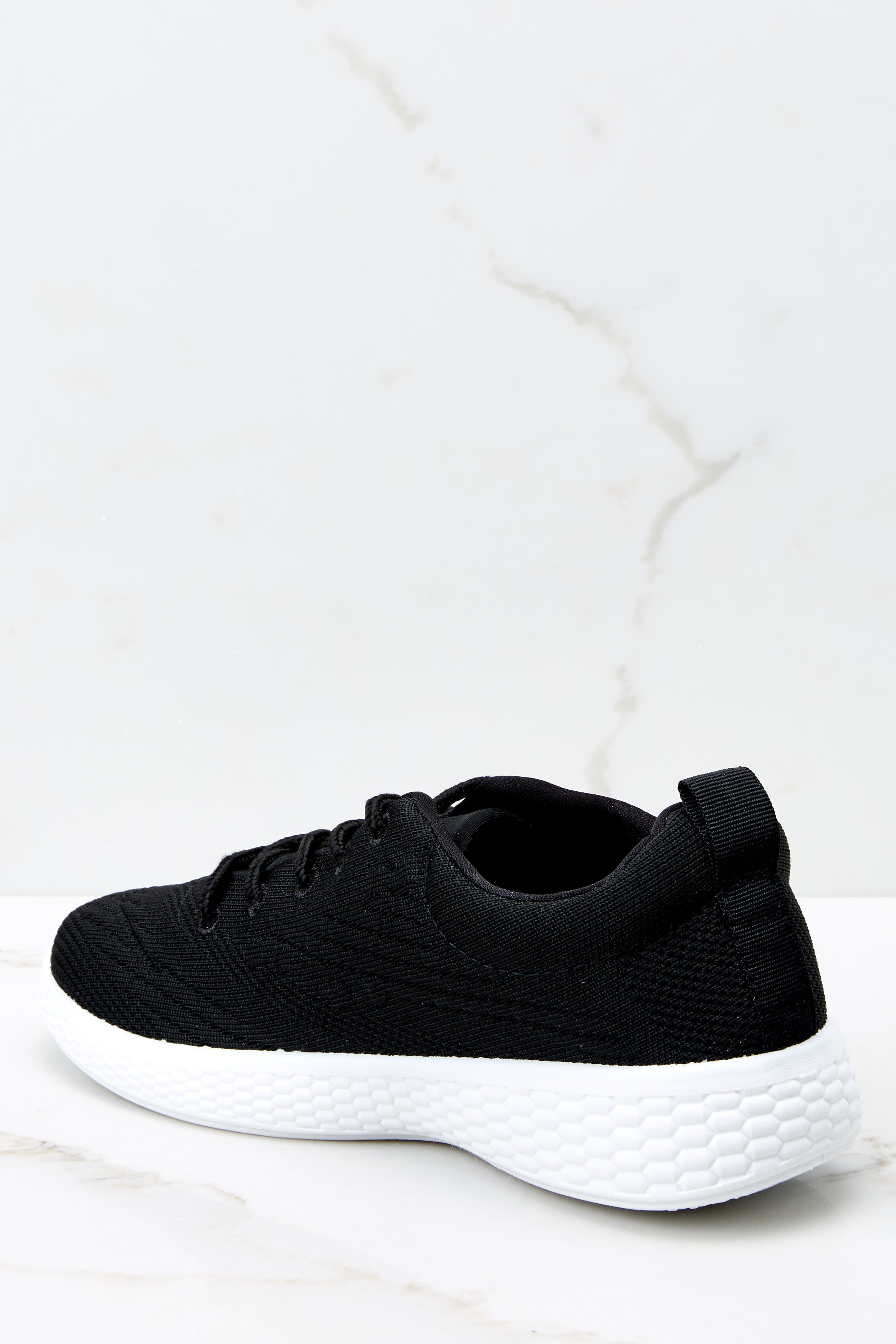 3 Buzz Off Black Sneakers at reddressboutique.com