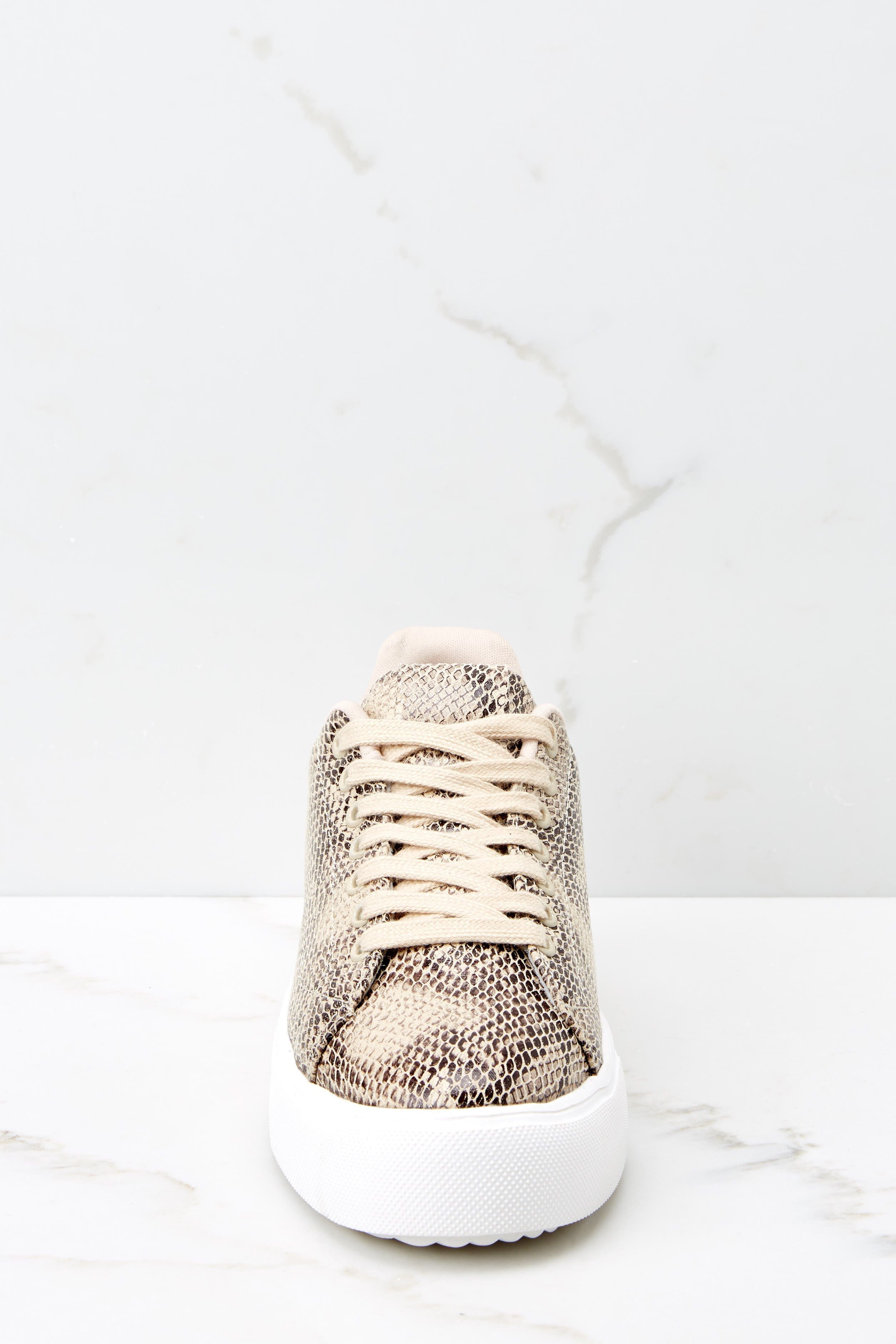 3 Race You There Snake Print Sneakers at reddressboutique.com