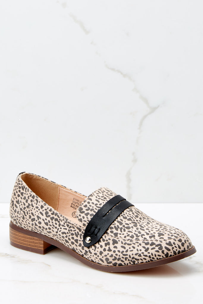 1 Casual Escapade Brown Studded Mules at reddressboutique.com
