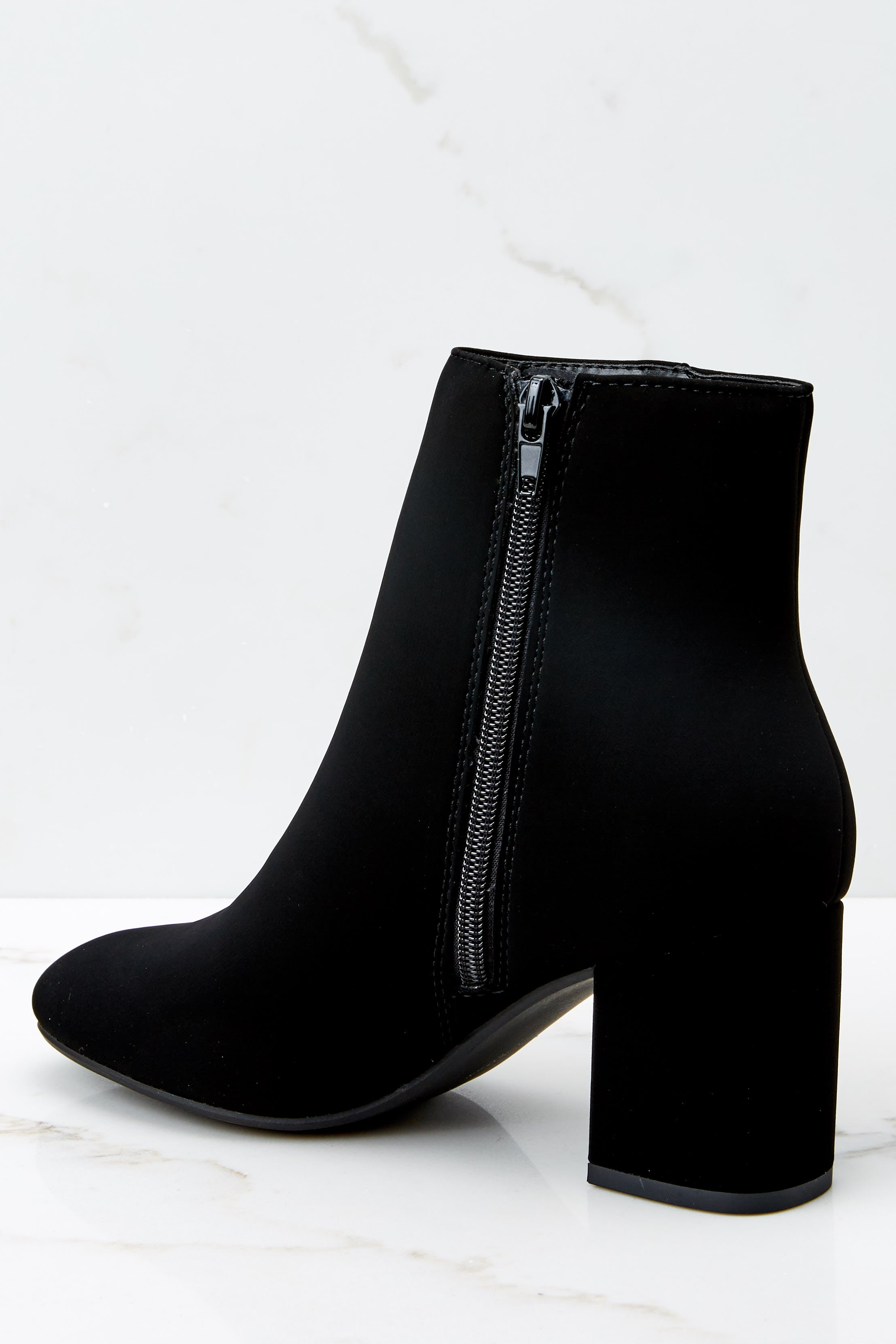 3 Must Be Famous Black Ankle Booties at reddressboutique.com