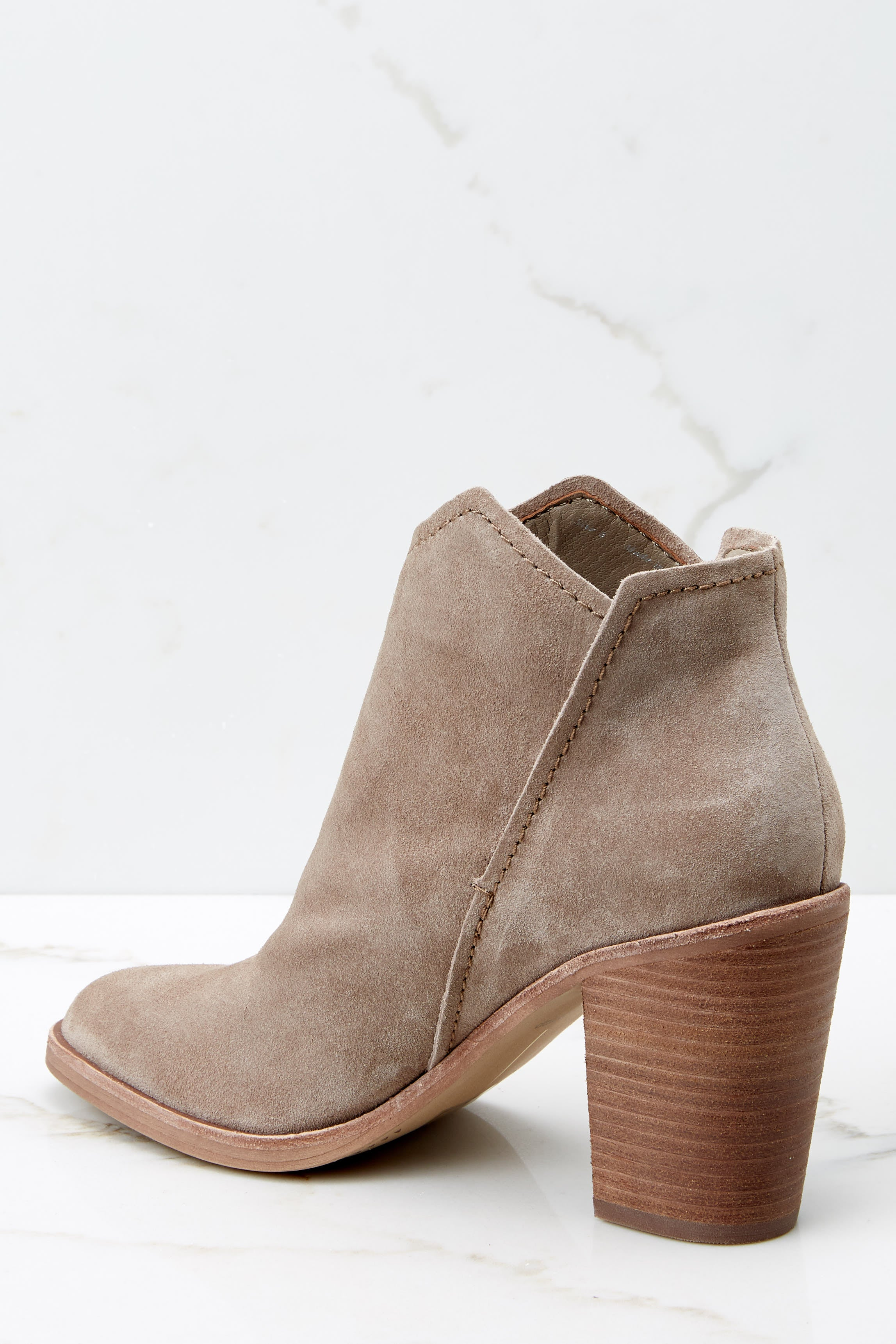 Shep Taupe Booties