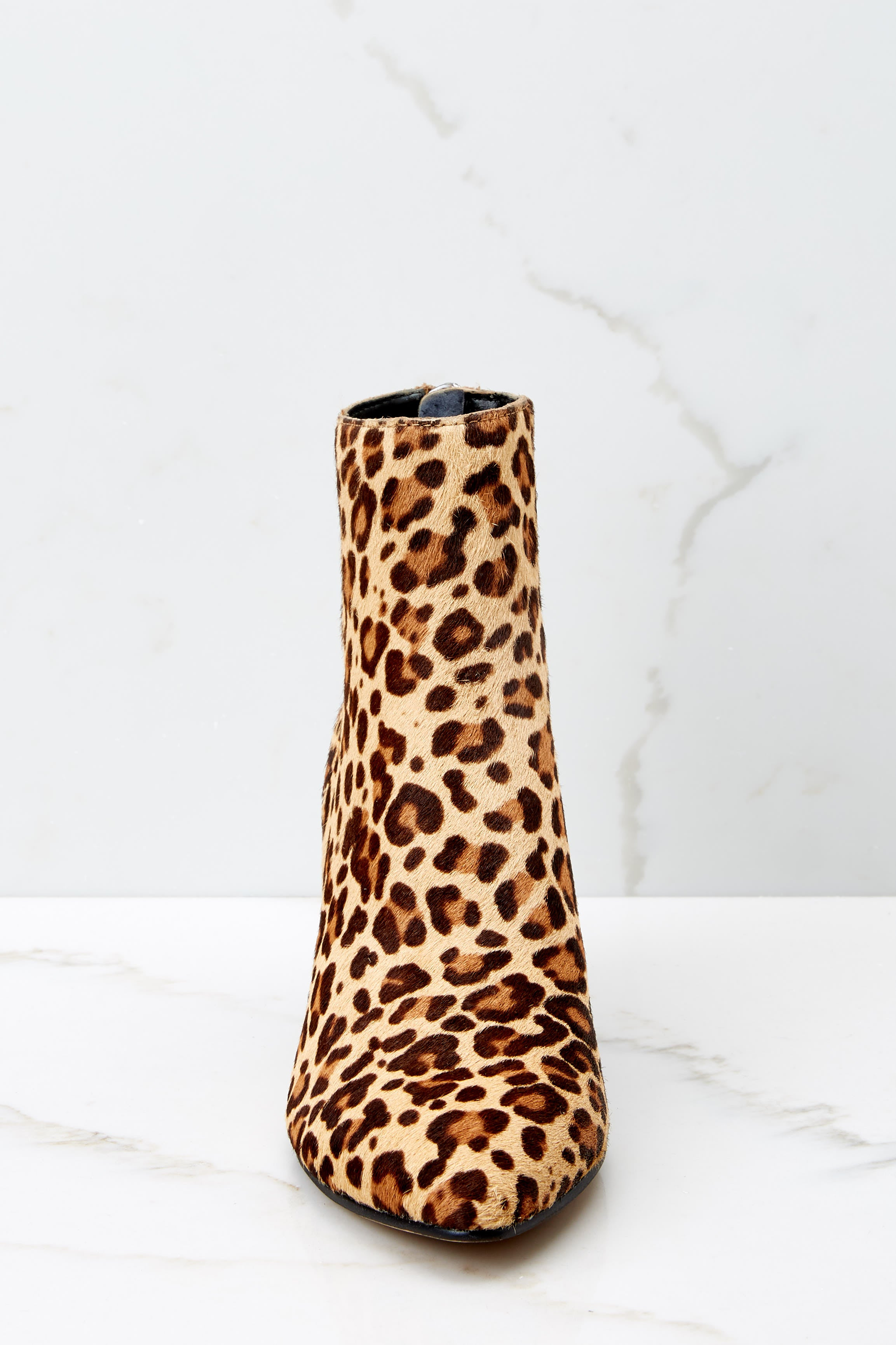 3 Coltyn Leopard Booties at reddressboutique.com