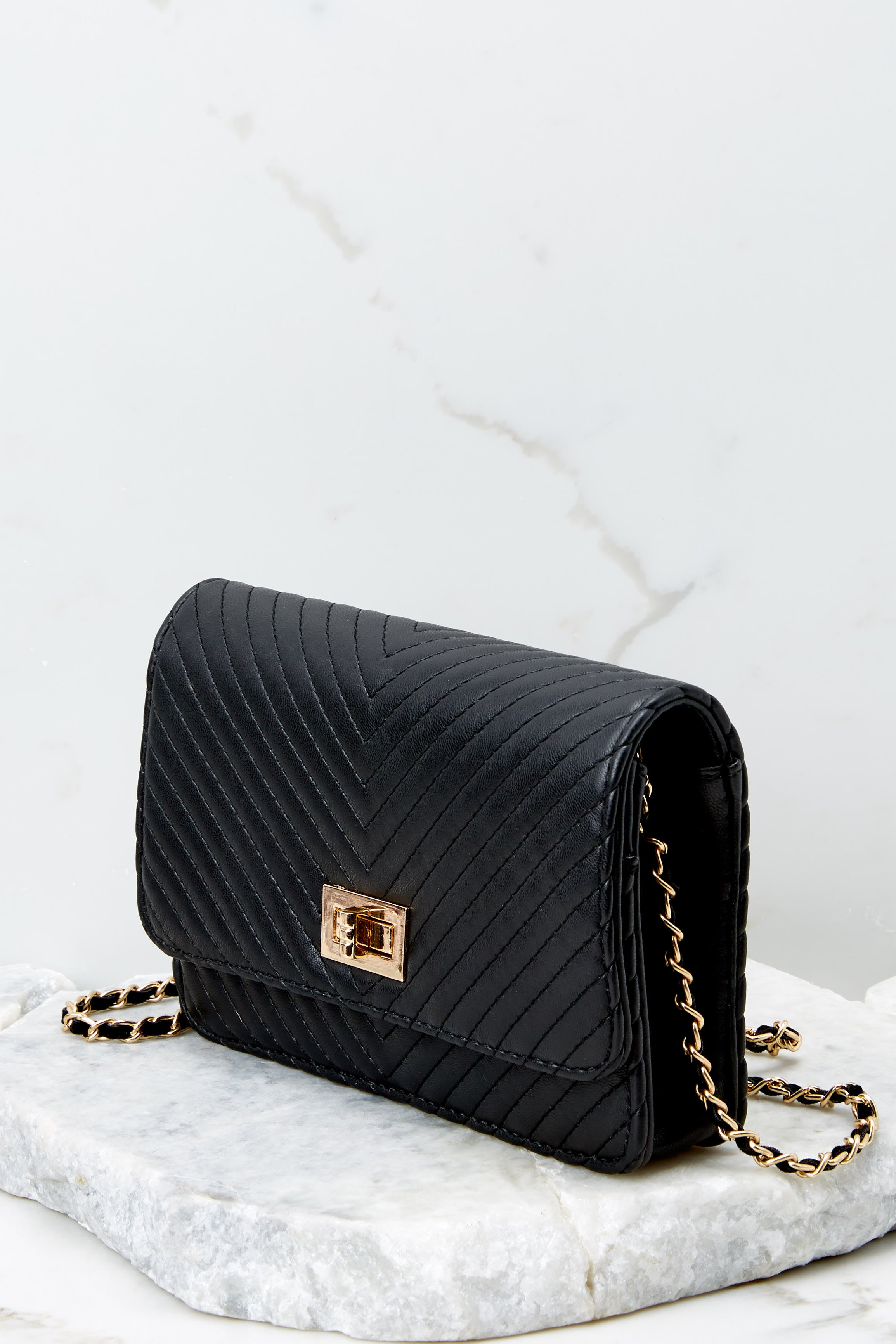 4 My Obsession Black Purse at reddressboutique.com