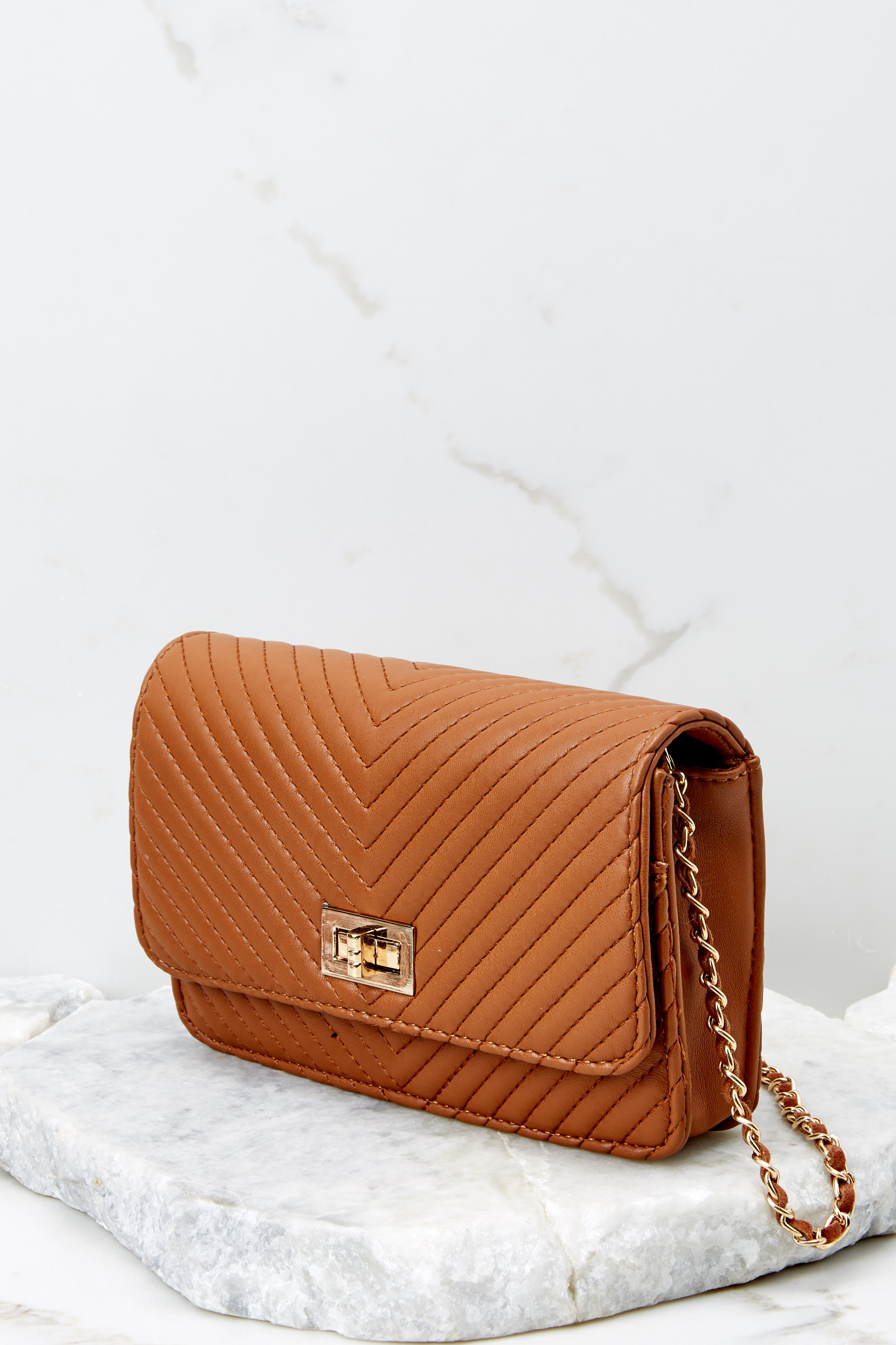 4 My Obsession Light Brown Purse at reddressboutique.com