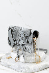 5 Everyone Will Know Snake Print Purse at reddressboutique.com
