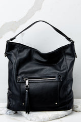 3 Carry Along Black Handbag at reddressboutique.com