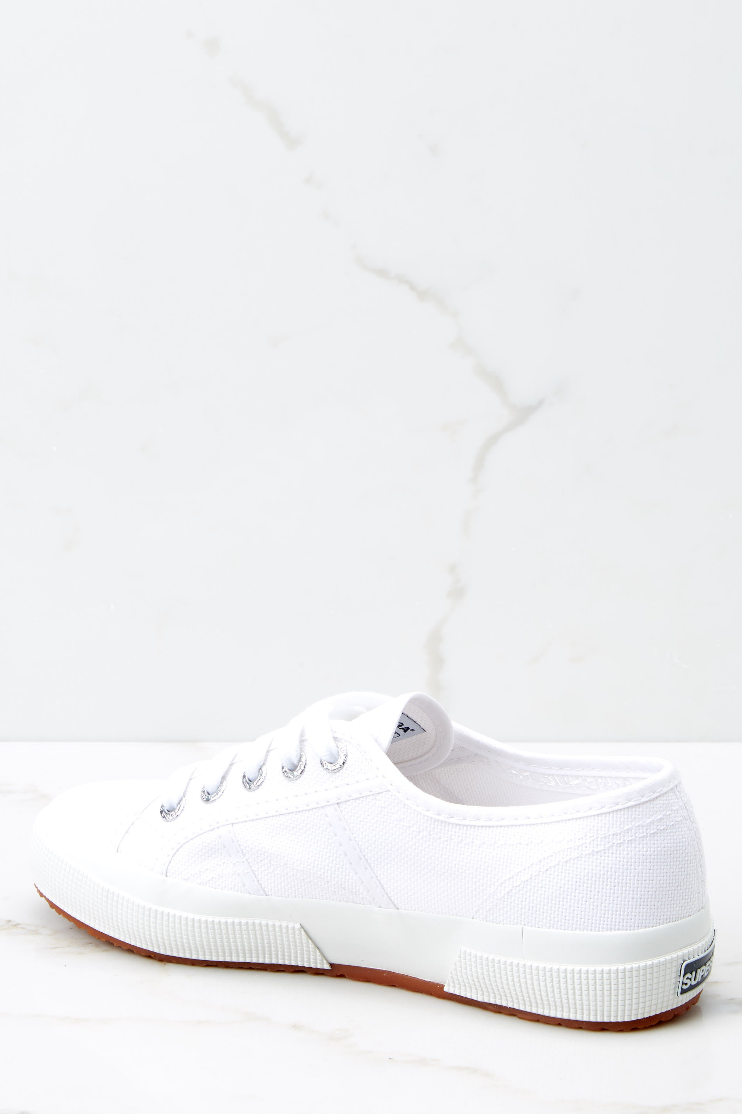 4 2750 Cotu White And Silver Classic Sneakers (BACKORDER NOVEMBER) at reddress.com