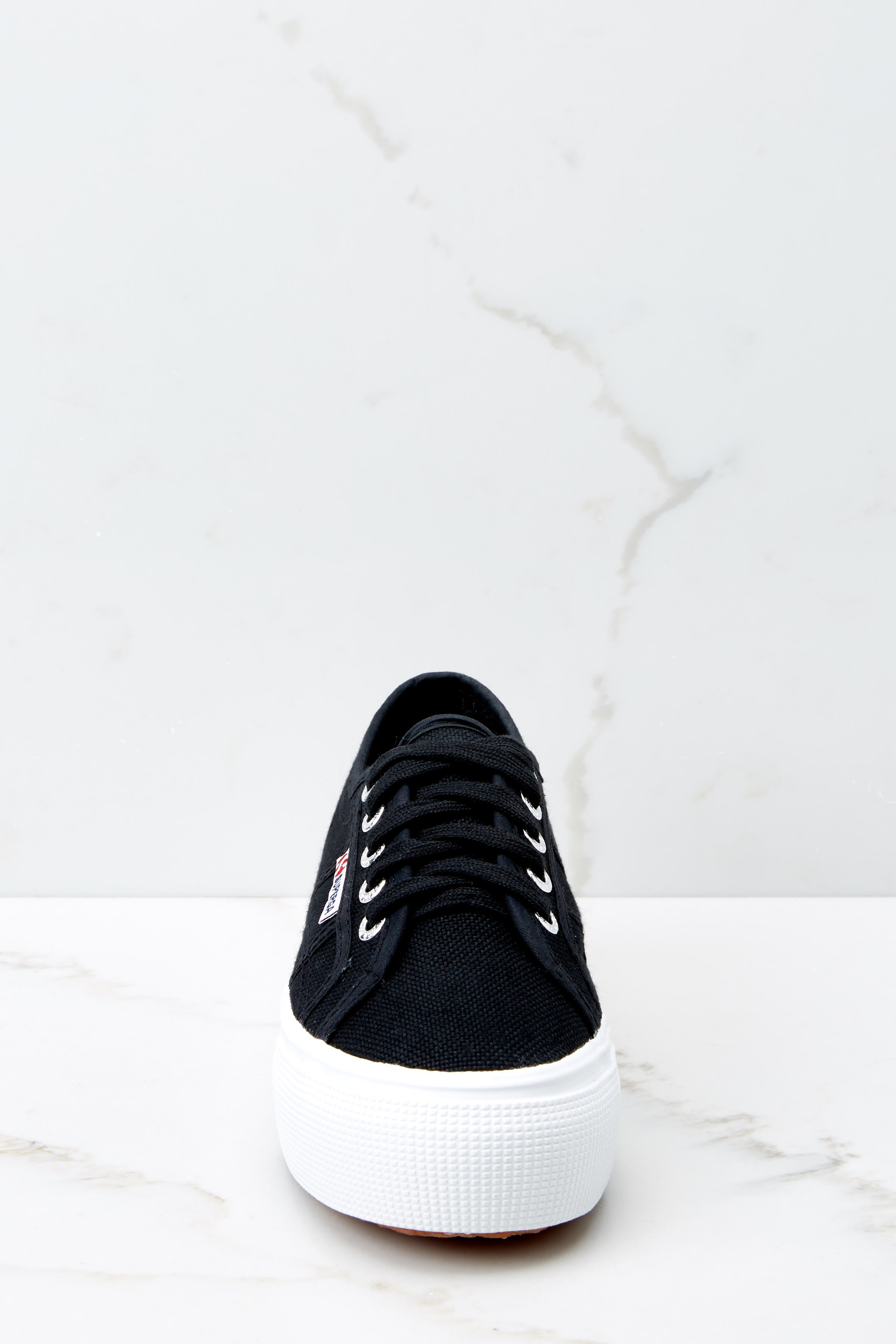 3 2790 Acot Black Platform Sneakers at reddressboutique.com