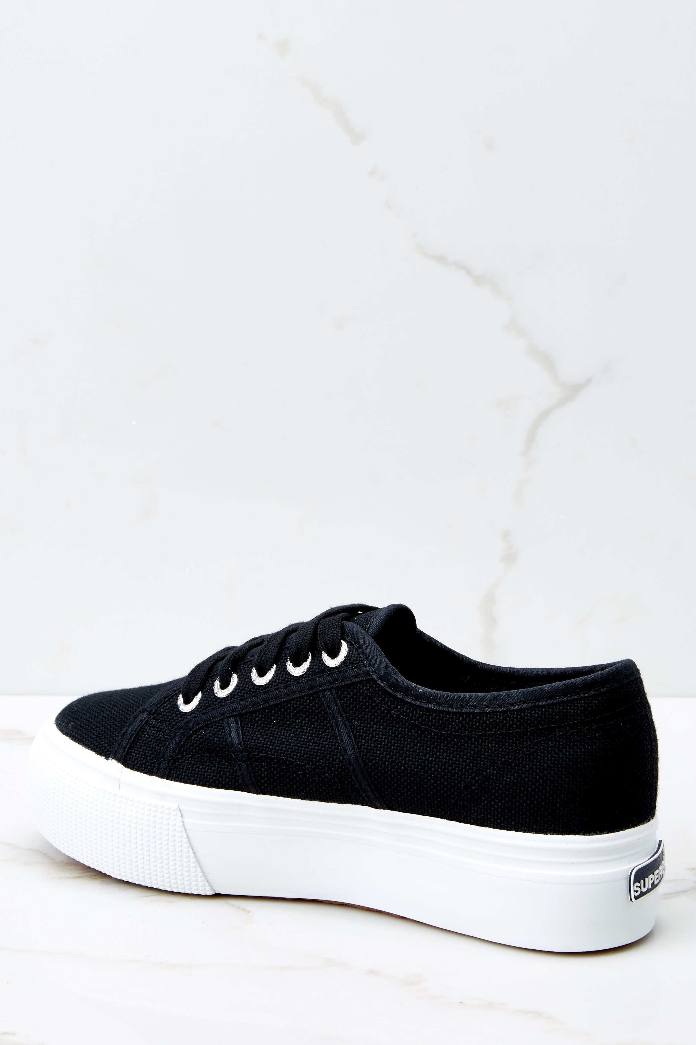 4 2790 Acot Black Platform Sneakers at reddressboutique.com