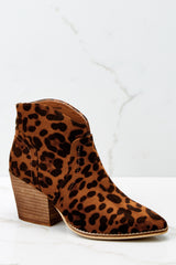 2 Well Played Leopard Ankle Booties at reddress.com