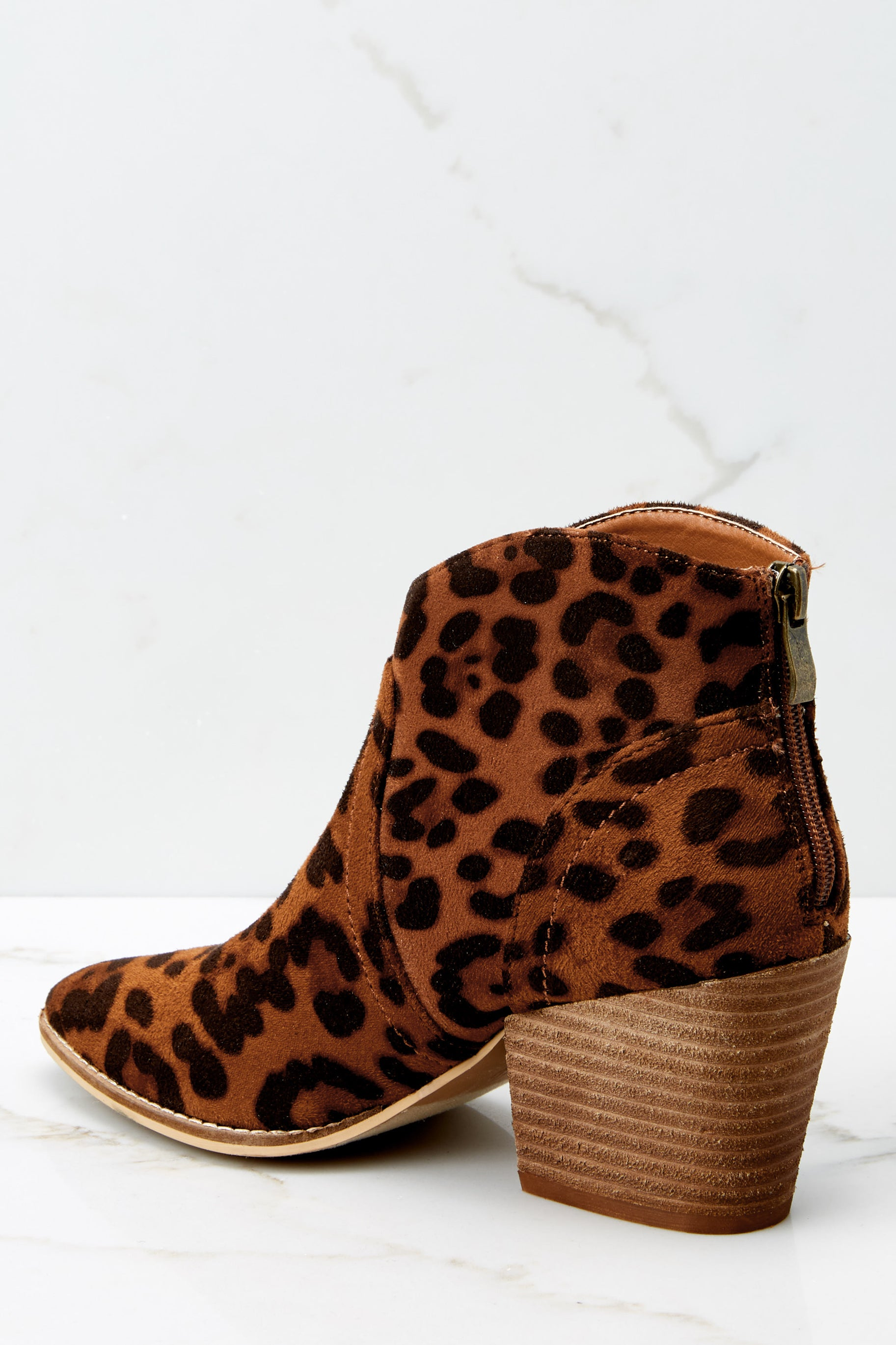 4 Well Played Leopard Ankle Booties at reddress.com