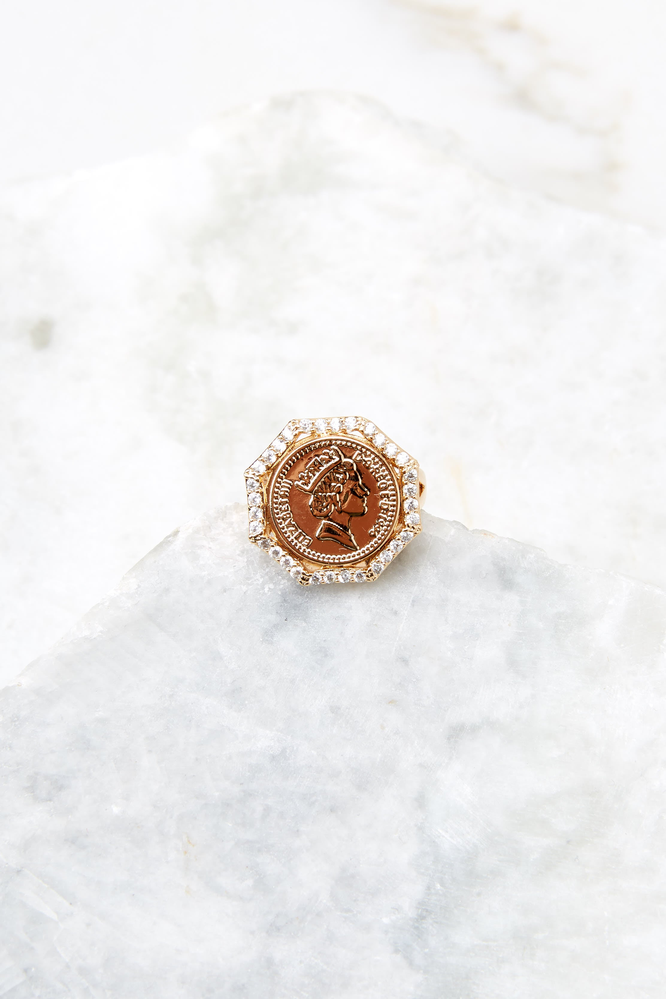3 Isadora Gold Ring at reddress.com