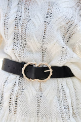 4 Bamboozle Them All Black Belt at reddressboutique.com