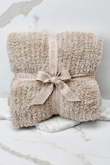 2 CozyChic® Sand Ribbed Throw at reddressboutique.com