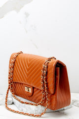 3 Polished And Poised Chestnut Bag at reddress.com