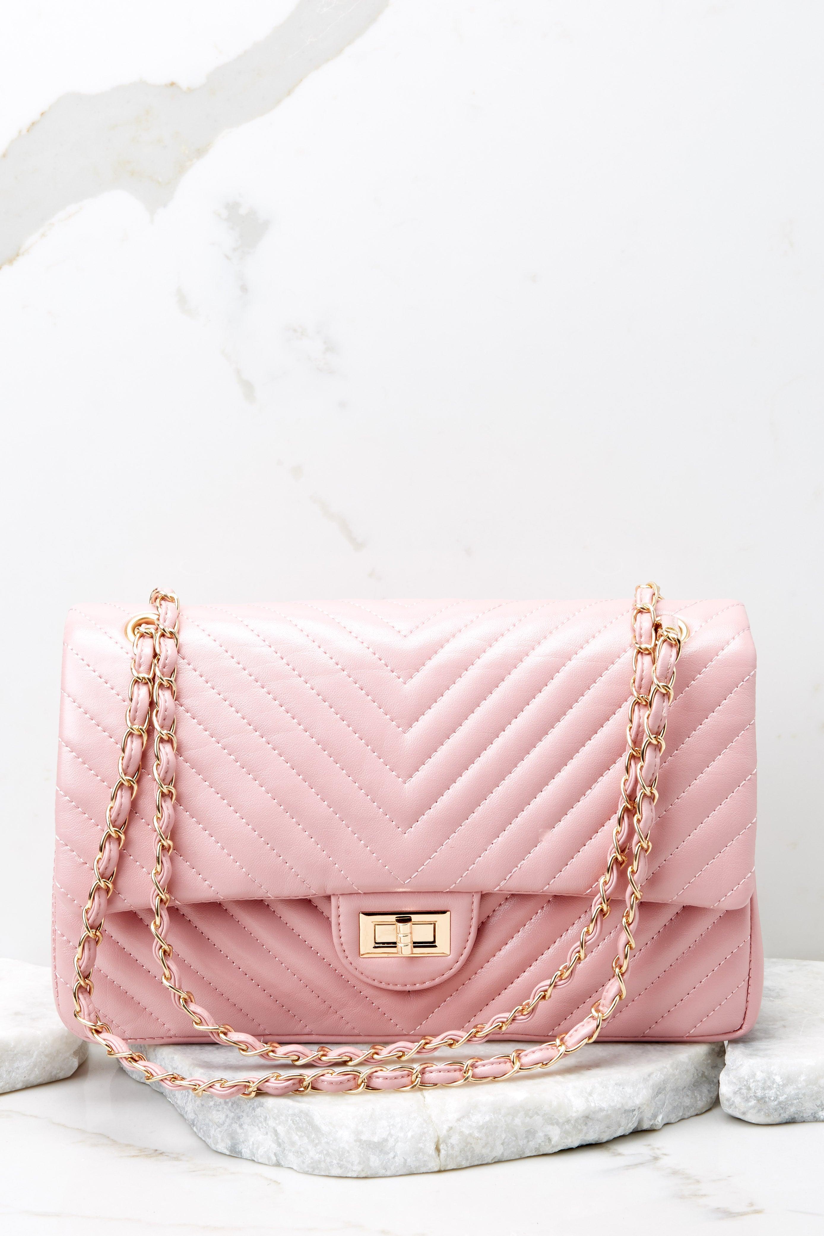 Polished And Poised Pink Bag