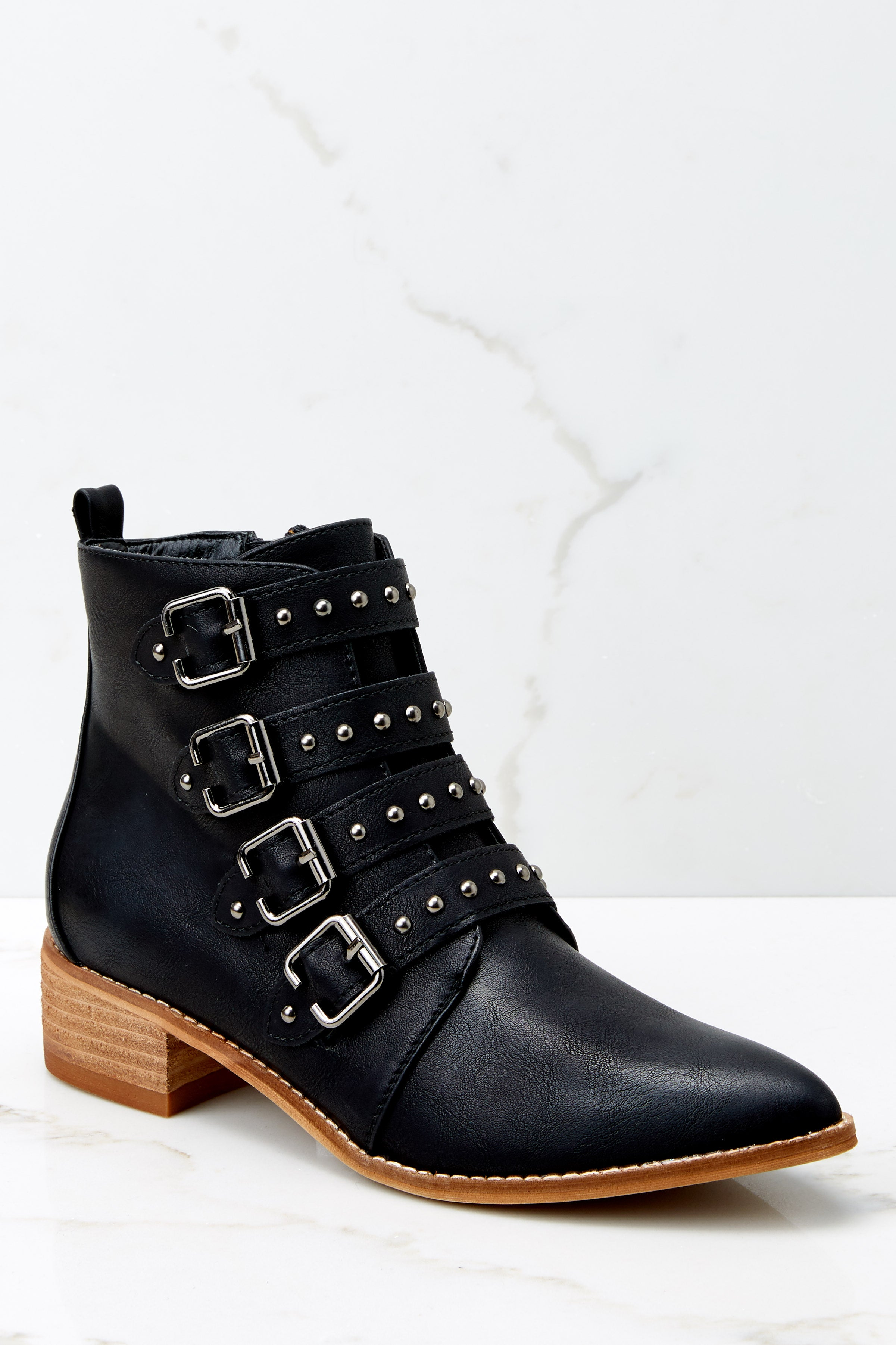 2 City Girl Black Ankle Boots (BACKORDER OCTOBER) @ reddress.com