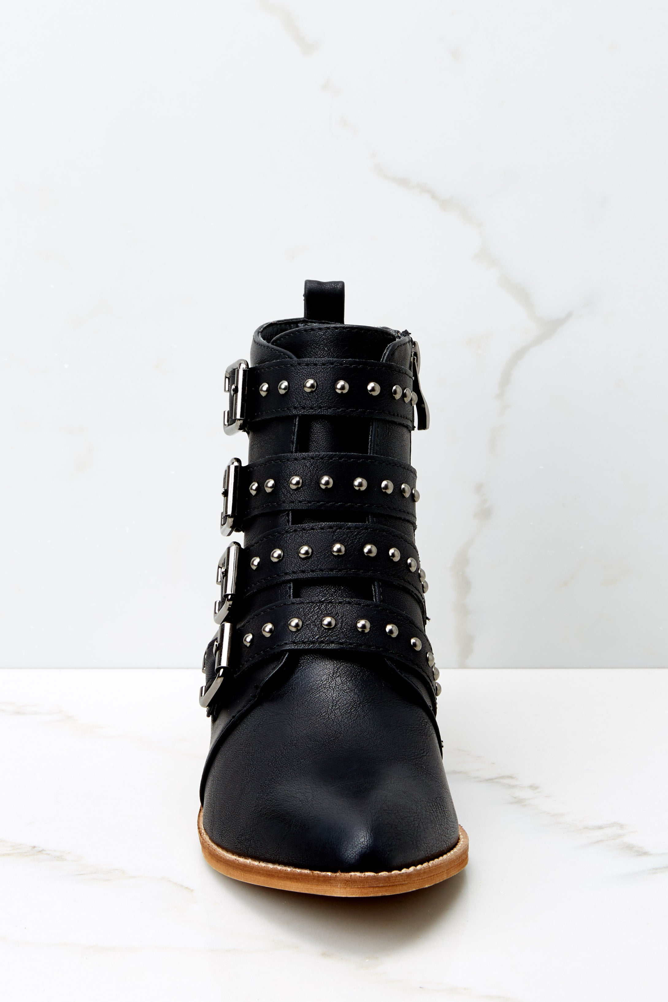 3 City Girl Black Ankle Boots (BACKORDER OCTOBER) @ reddress.com