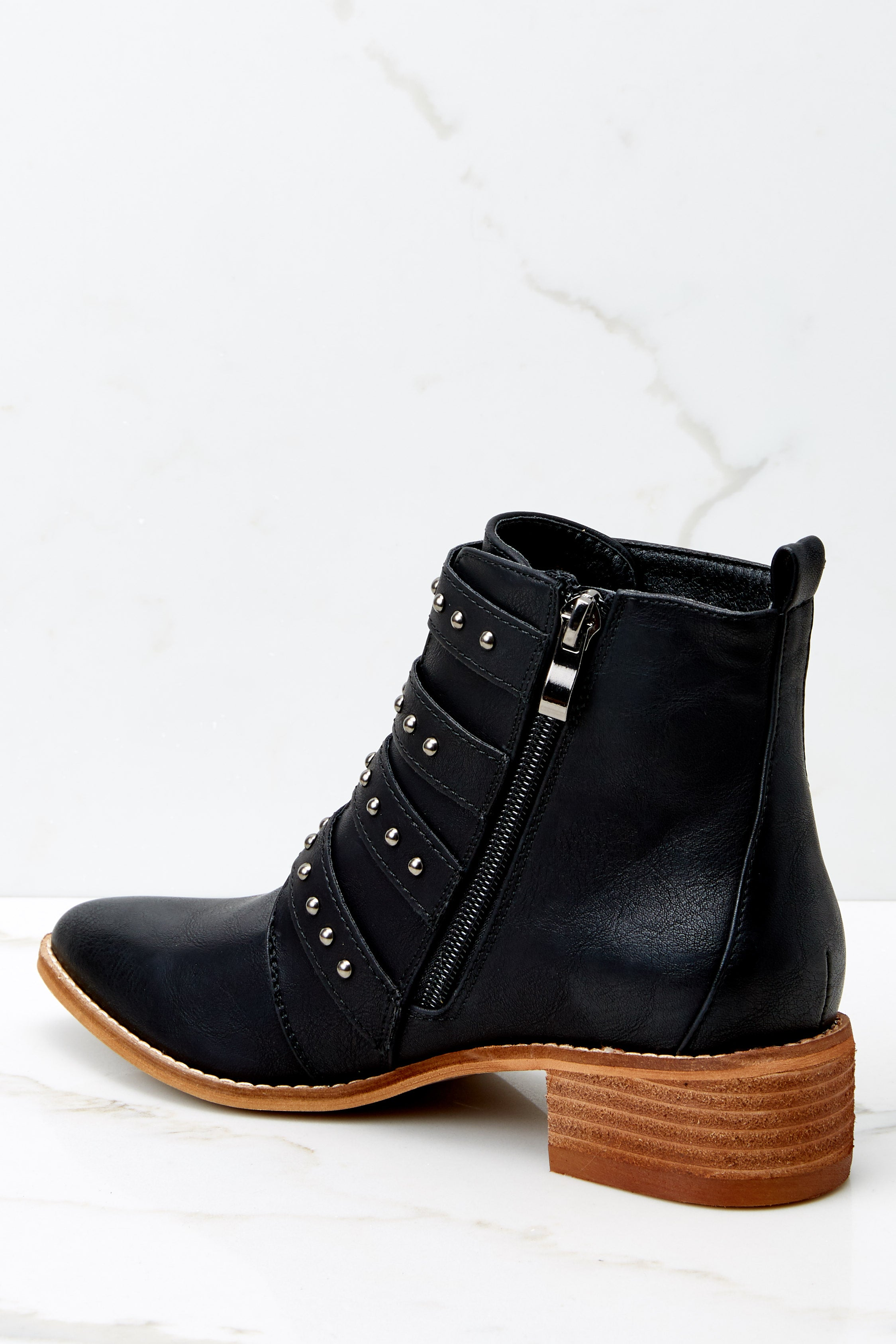 4 City Girl Black Ankle Boots (BACKORDER OCTOBER) @ reddress.com