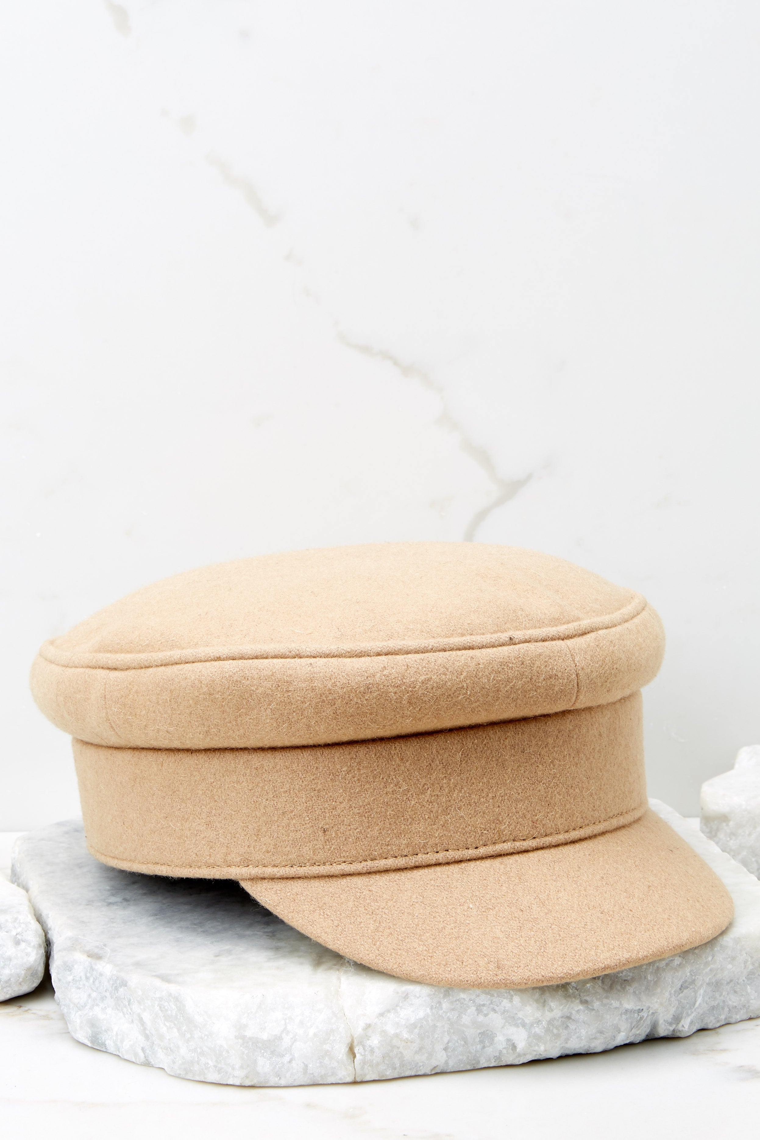 Time To Travel Beige Hat