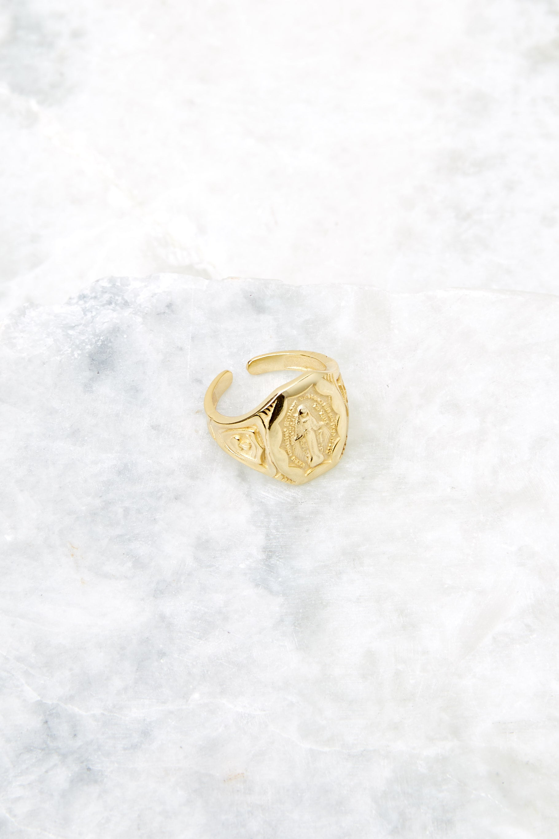 Favored Gold Signet Ring