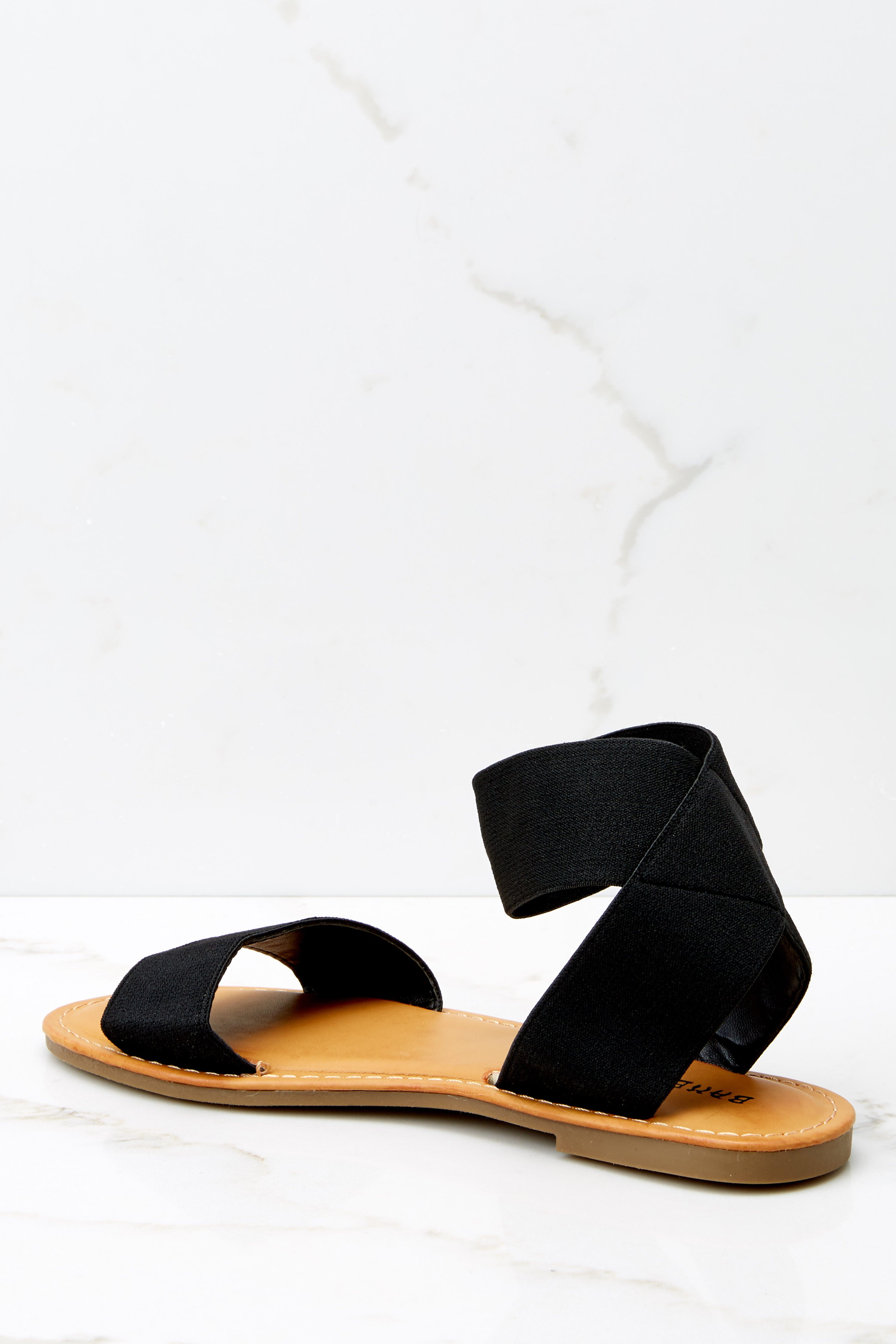 6 Can't Stay Away Black Ankle Strap Sandals at reddress.com