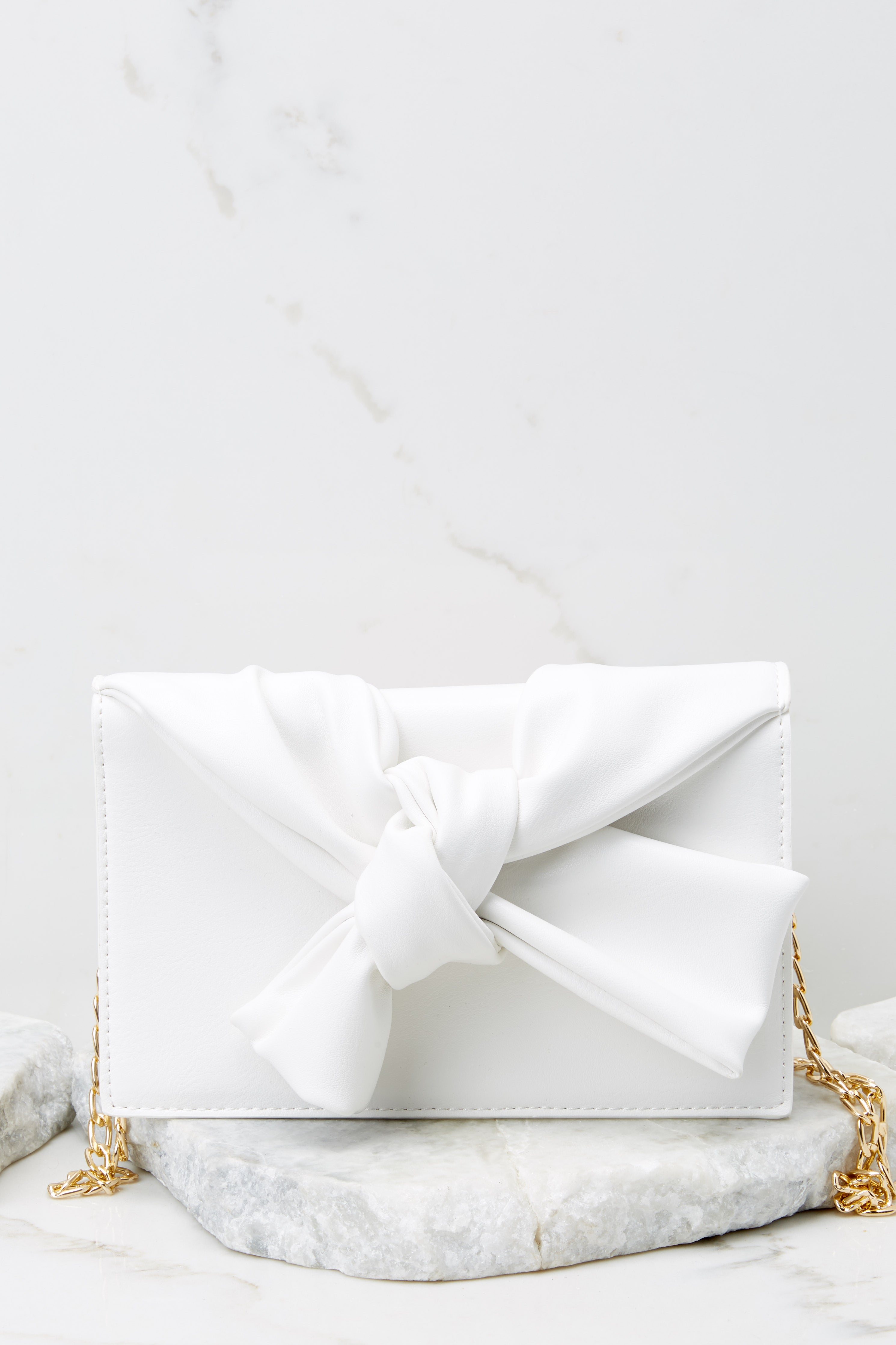 2 Double Check White Clutch at reddress.com