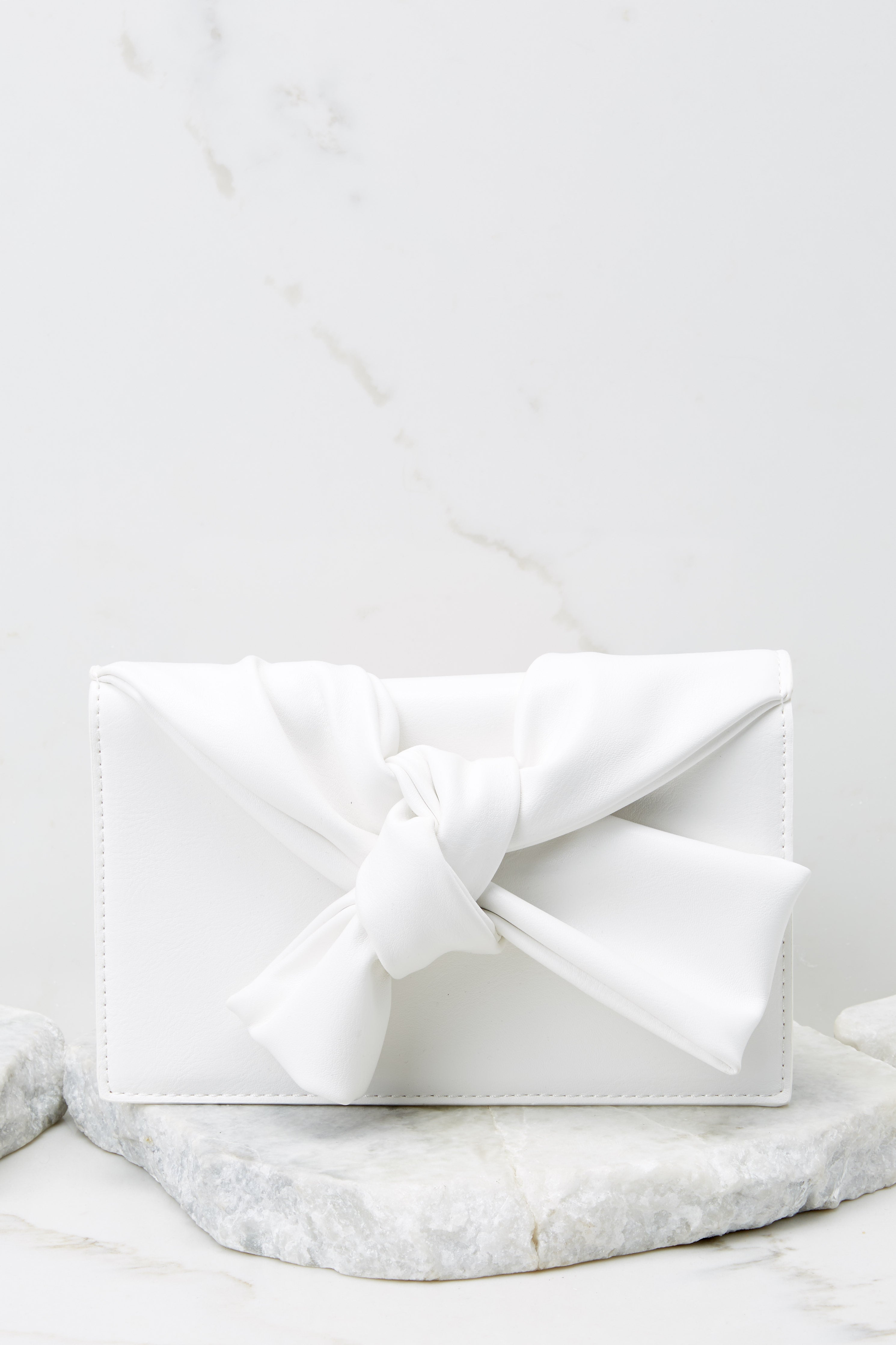 3 Double Check White Clutch at reddress.com