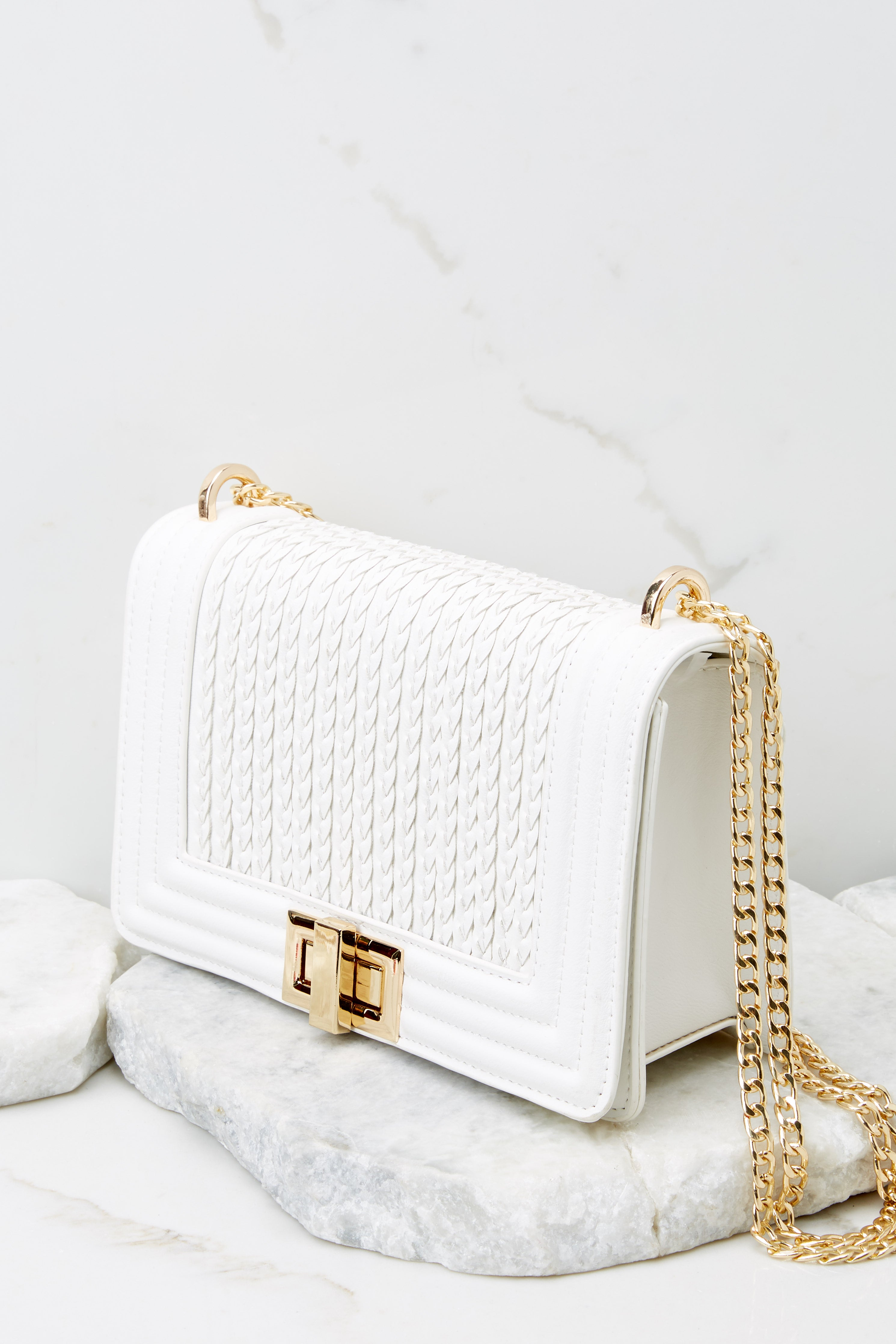 6 Hidden Treasure White Bag at reddress.com