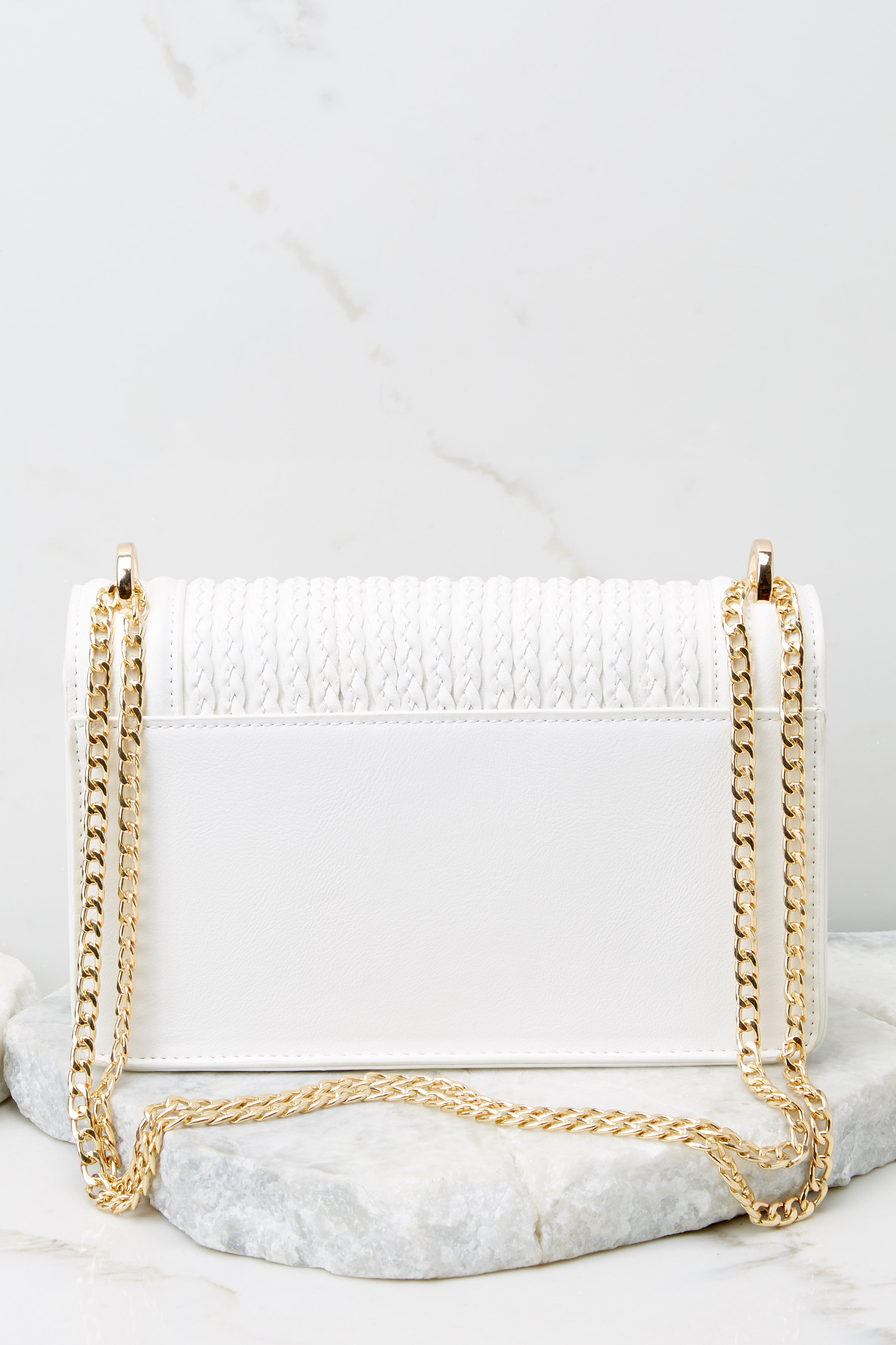 7 Hidden Treasure White Bag at reddress.com