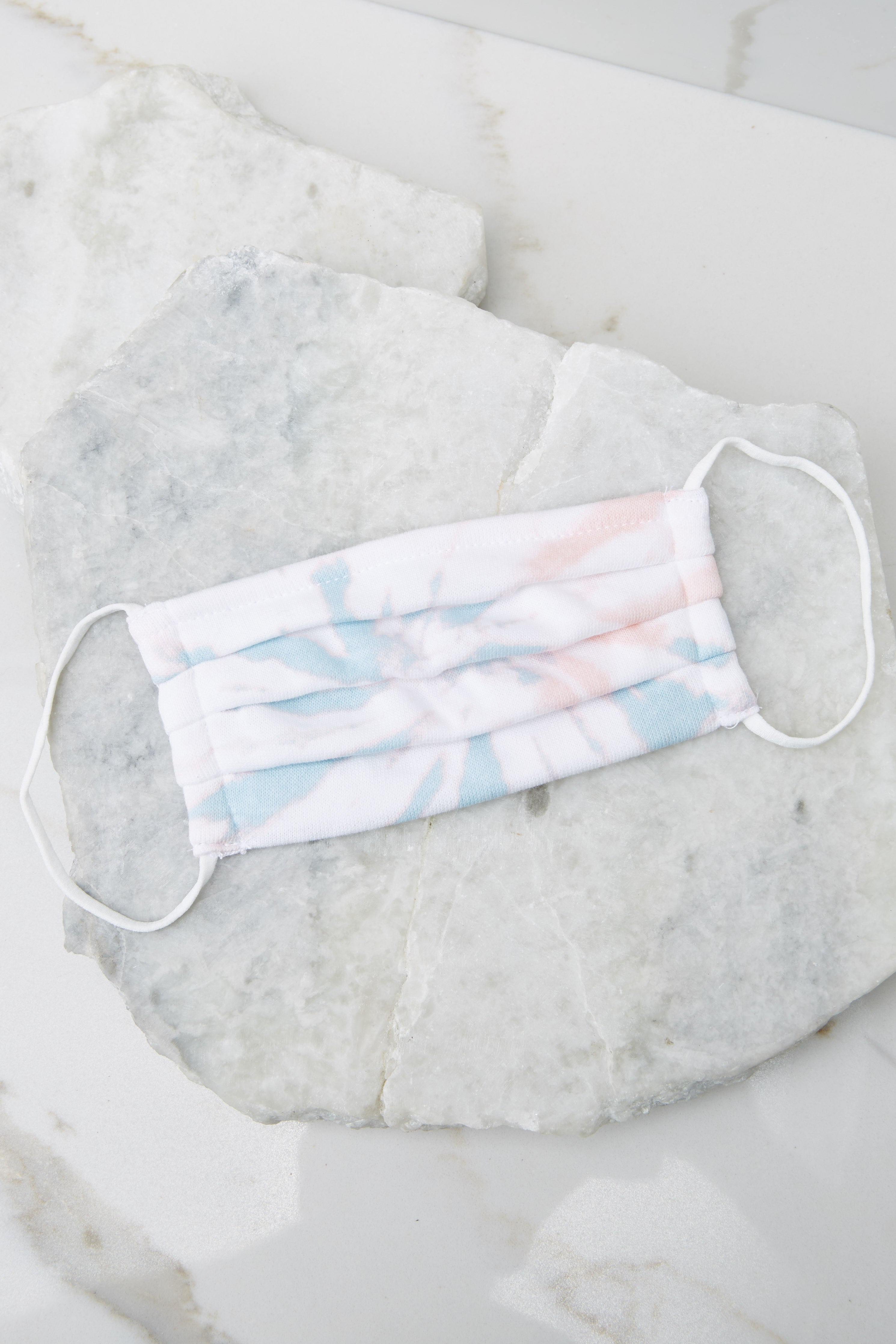 4 The Tie Dye Grey Kids Tie Dye Reusable Face Mask (2-Pack) at redddress.com