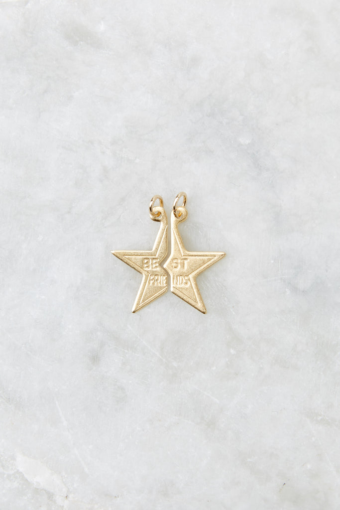 1 Opportunity Knocks Gold Pin Charm at reddress.com