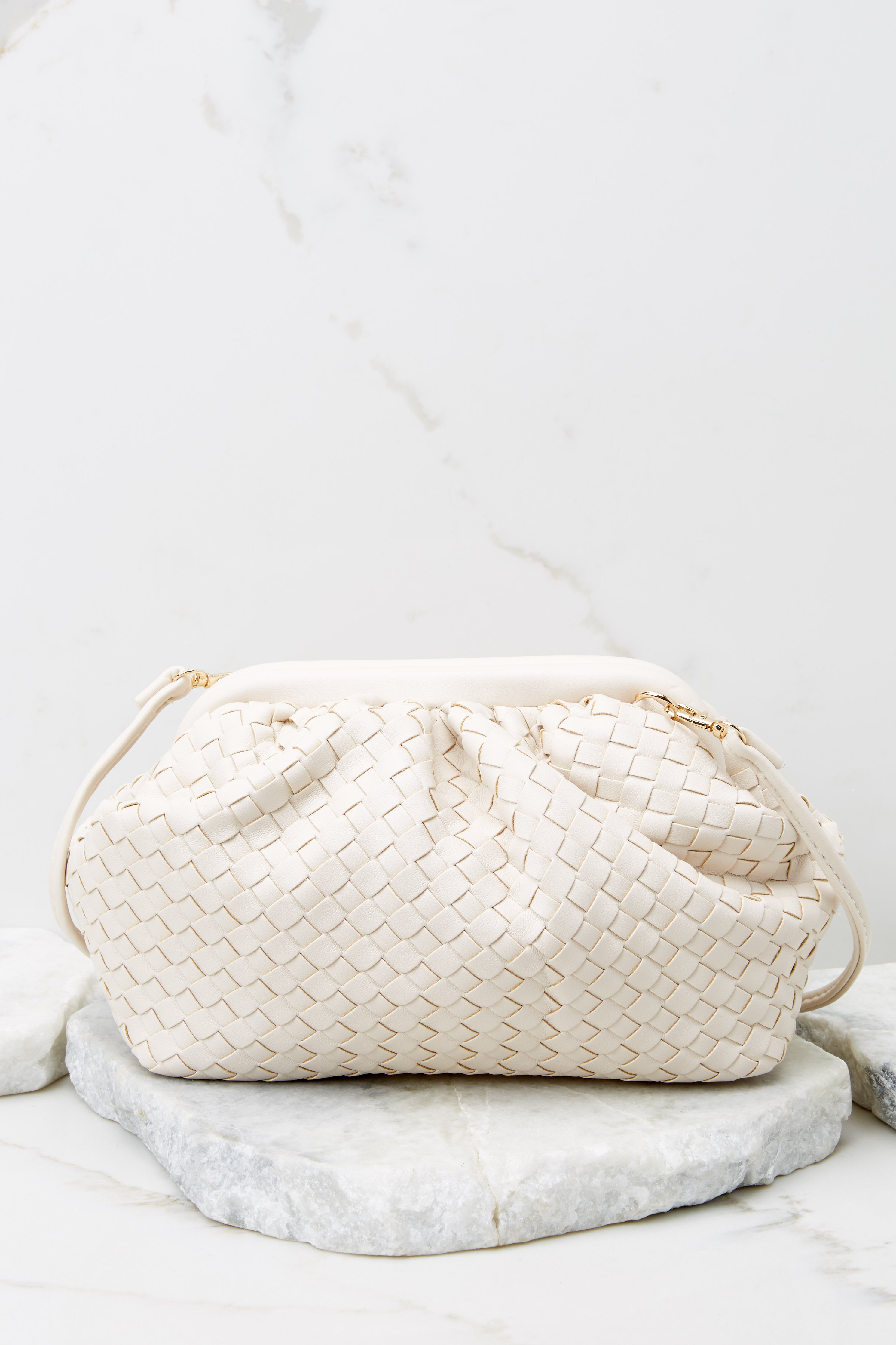 4 Why Of Course Ivory Bag at reddress.com