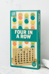 3 Four In A Row Wooden Game @ reddress.com