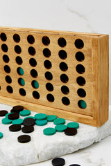 2 Four In A Row Wooden Game @ reddress.com
