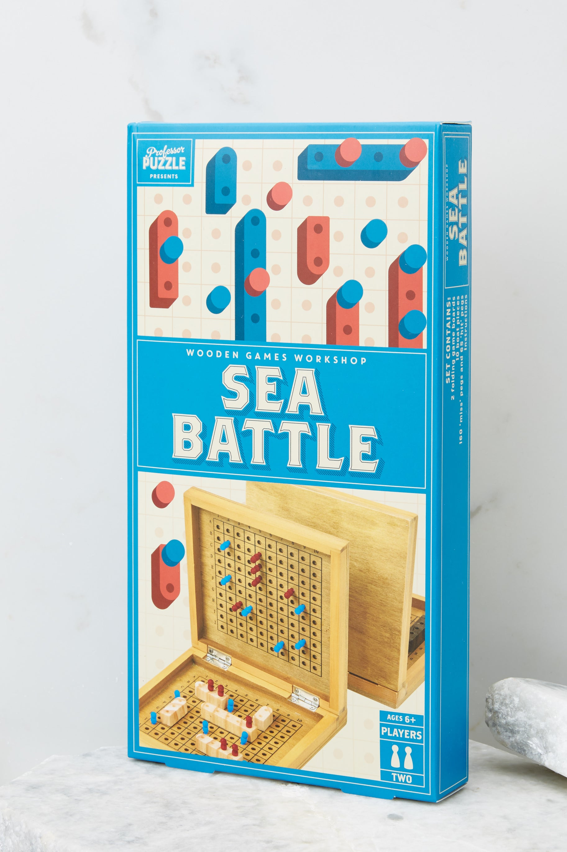 3 Sea Battle Wooden Game @ reddress.com