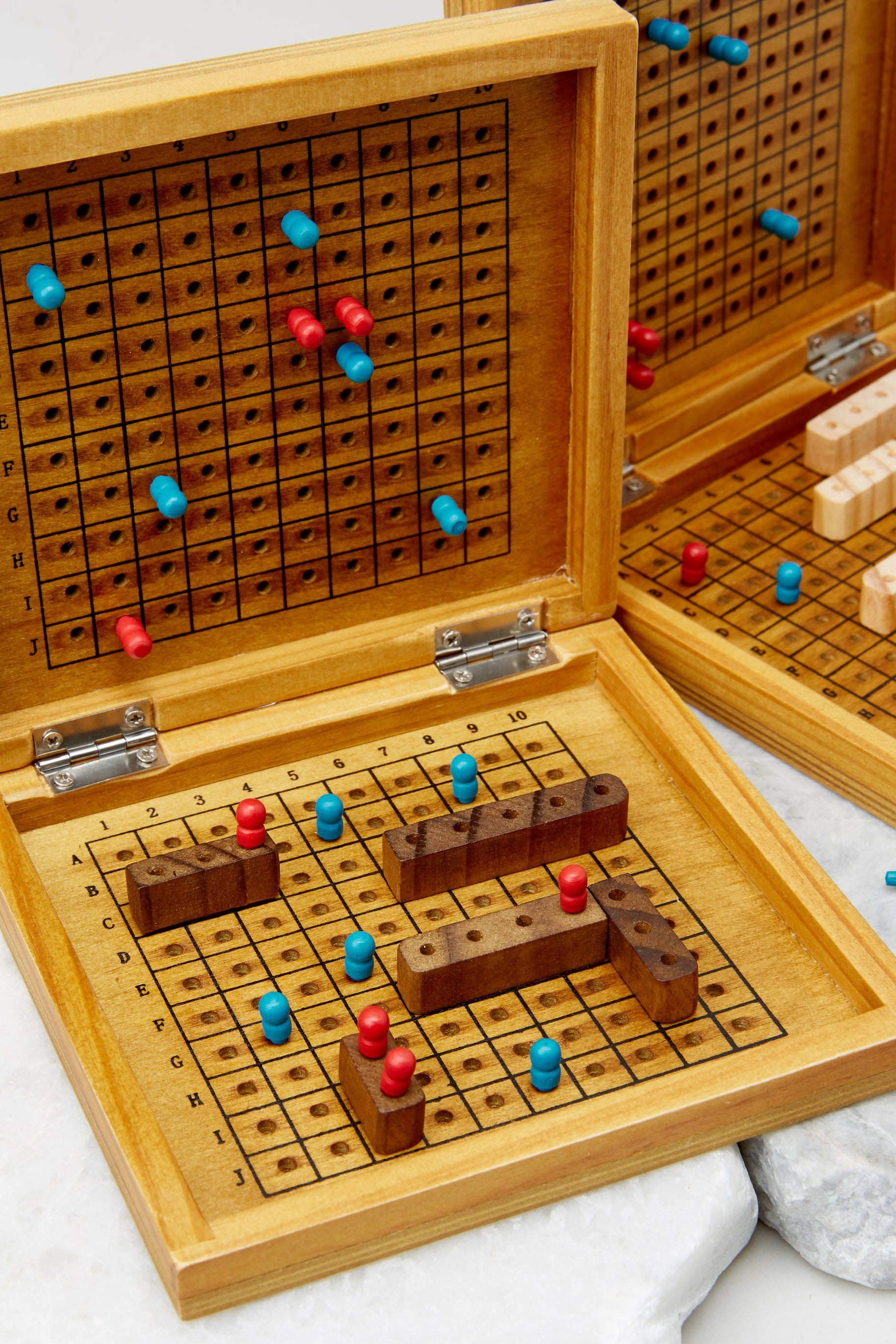2 Sea Battle Wooden Game @ reddress.com