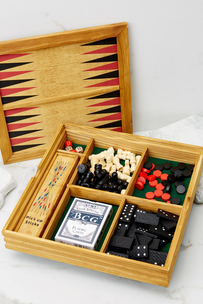 1 Four In A Row Wooden Game @ reddress.com