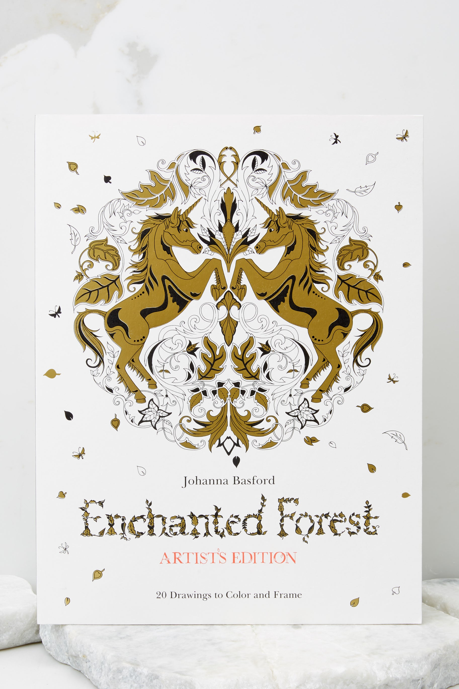1 Enchanted Forest Artist's Edition Coloring Book at reddress.com